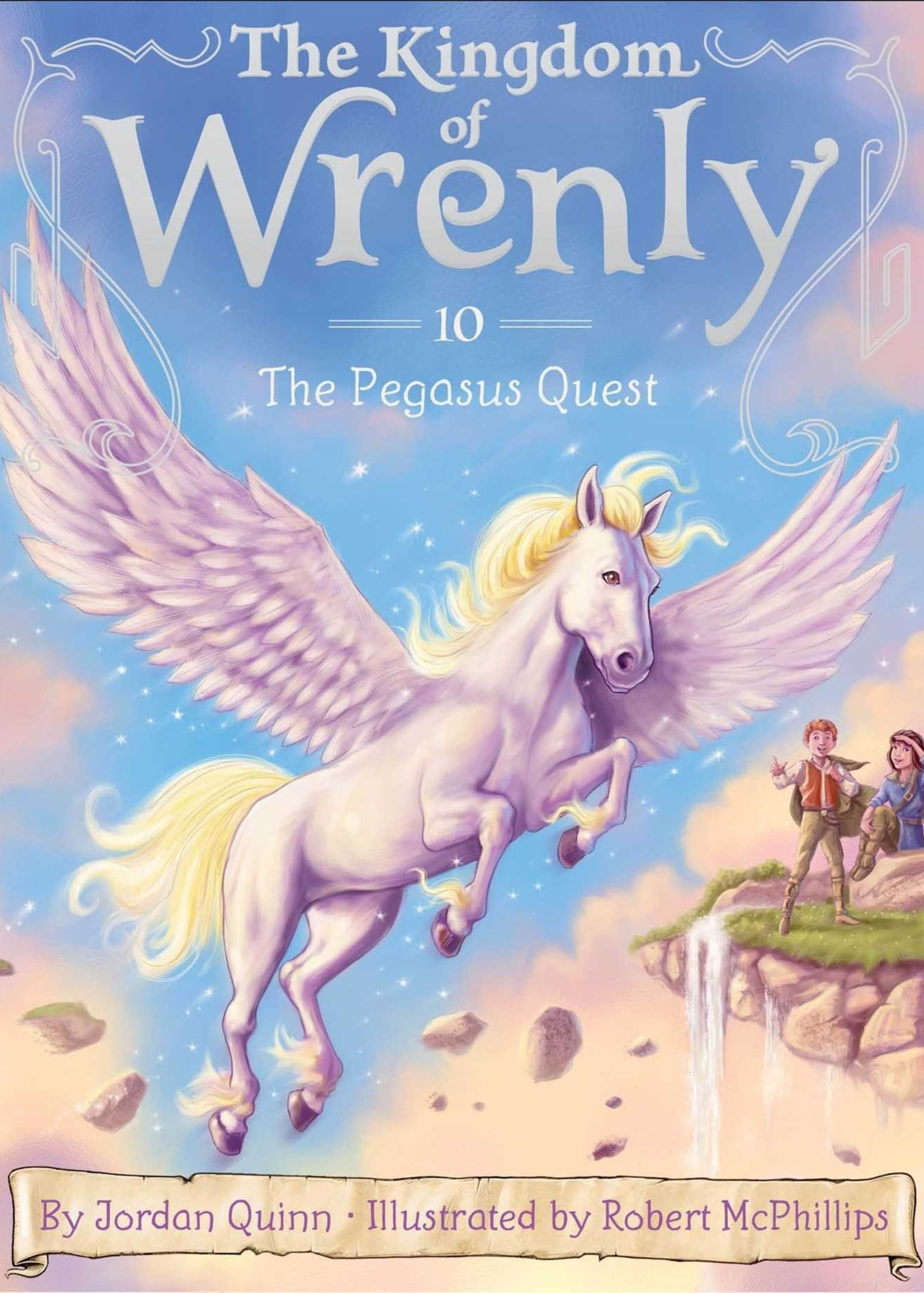Kingdom of Wrenly #10, Pegasus Quest - Paperback