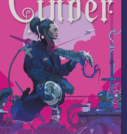 The Lunar Chronicles #01, Cinder (Illustrated Cover) - PB