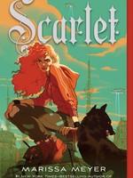 Macmillan Publishing Lunar Chronicles #02, Scarlet (Illustrated Cover) - PB