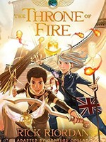 The Kane Chronicles #02, The Throne of Fire GN - PB