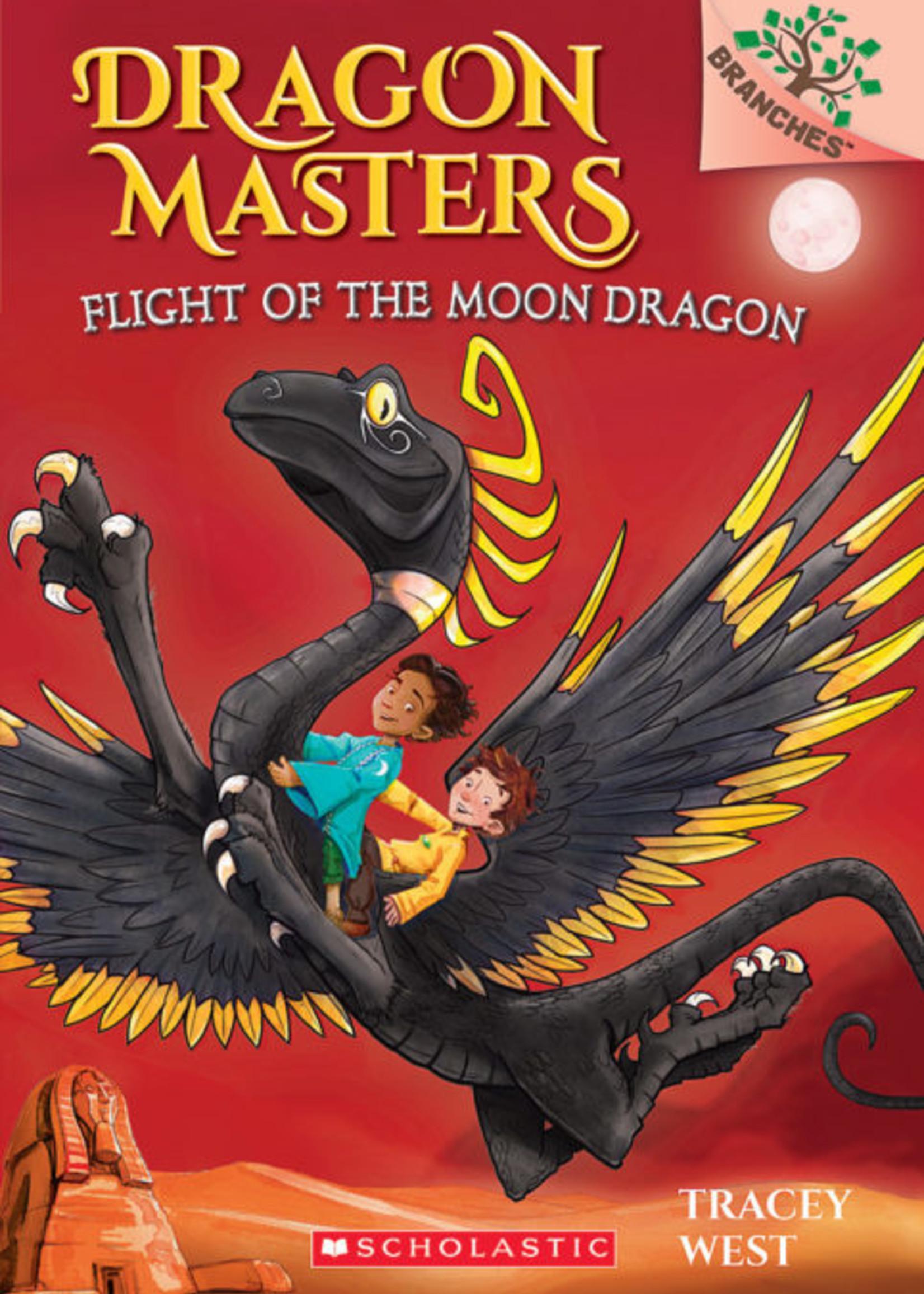 Dragon Masters #06, Flight of the Moon Dragon - Paperback