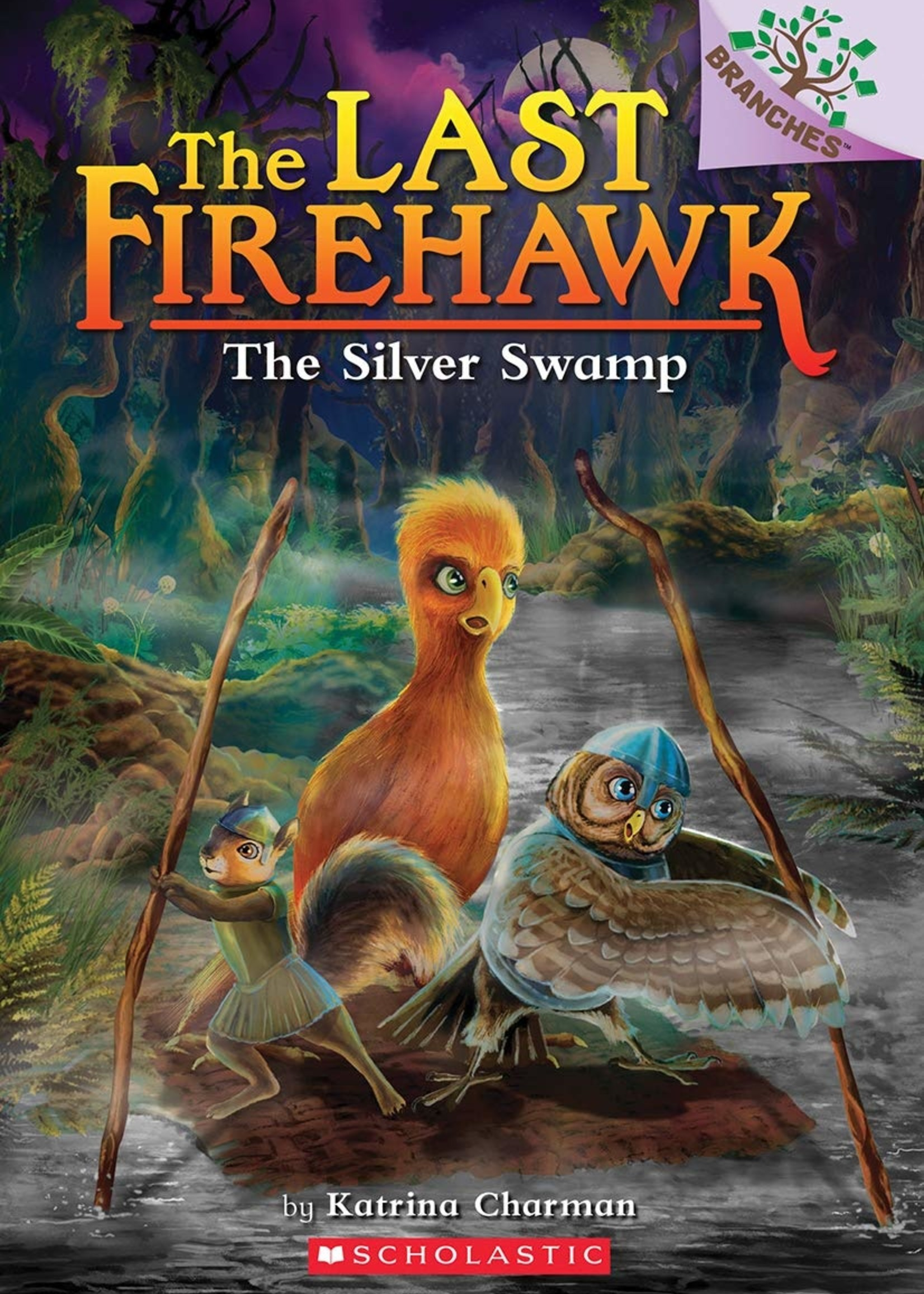 The Last Firehawk #08, The Silver Swamp - Paperback