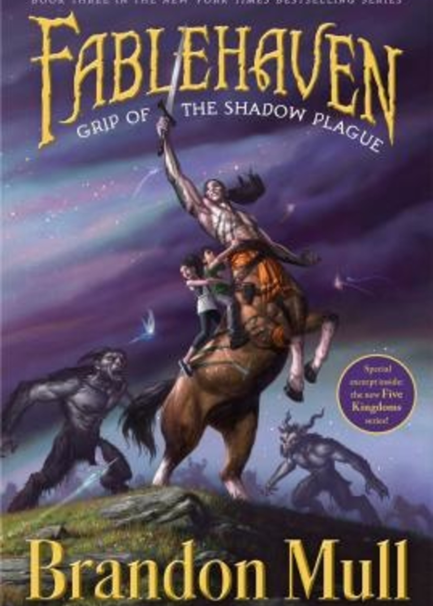 Fablehaven #03, Grip of the Shadow Plague - Paperback