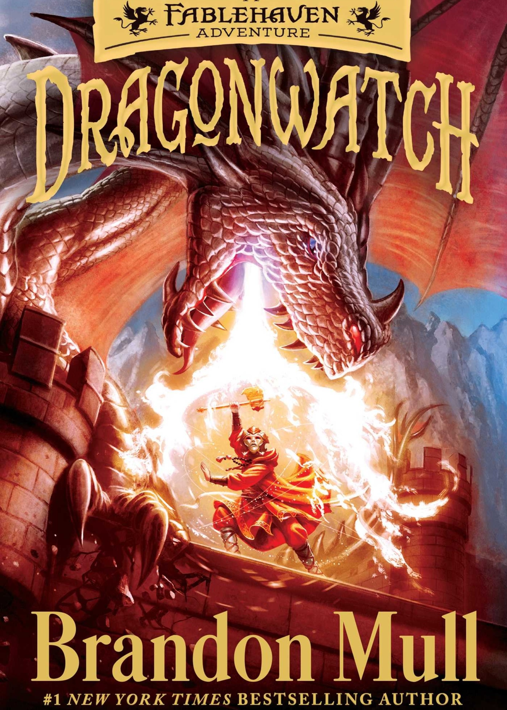 Dragonwatch #01, A Fablehaven Adventure - Paperback