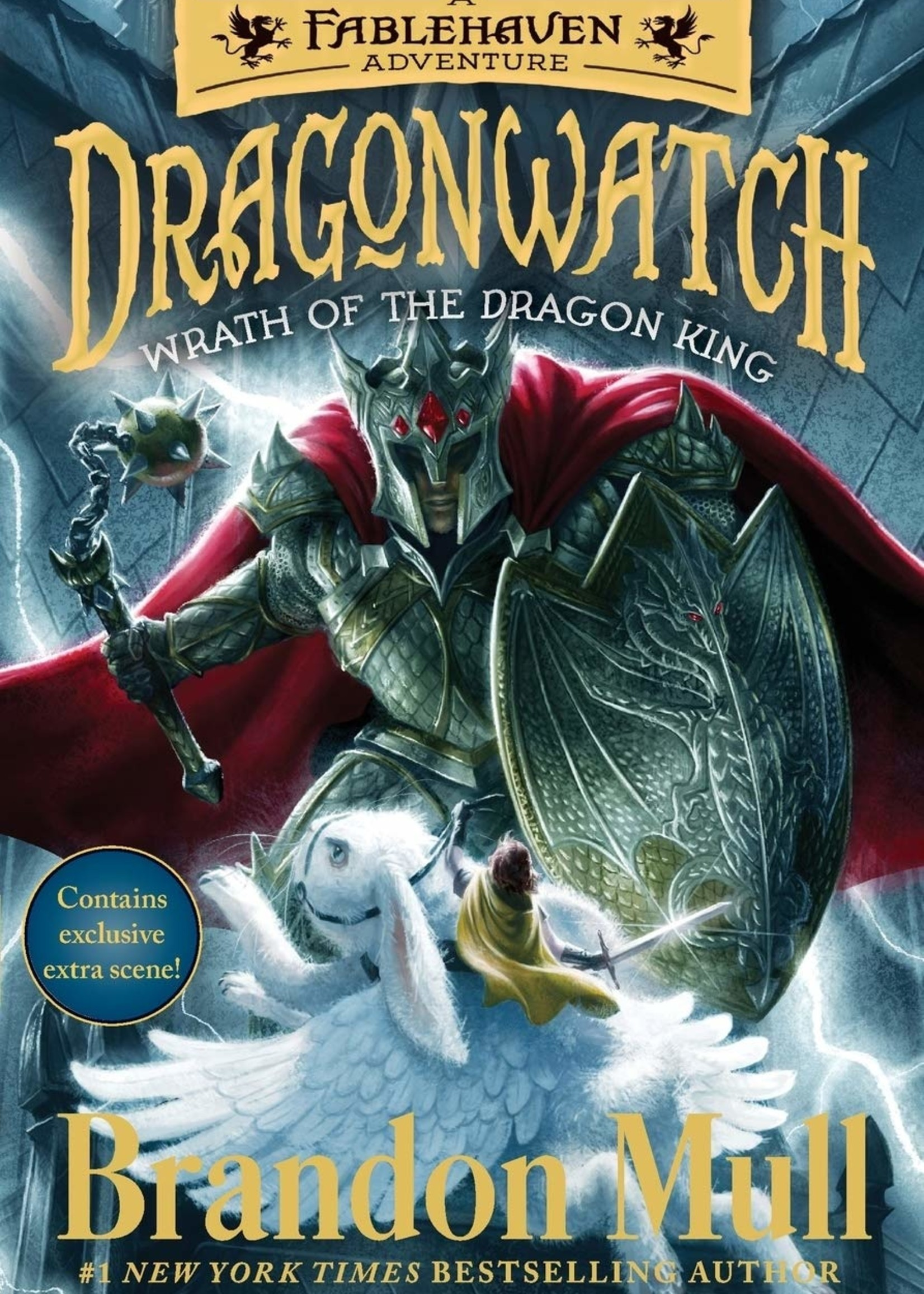 Dragonwatch #02, Wrath of the Dragon King: A Fablehaven Adventure - Paperback