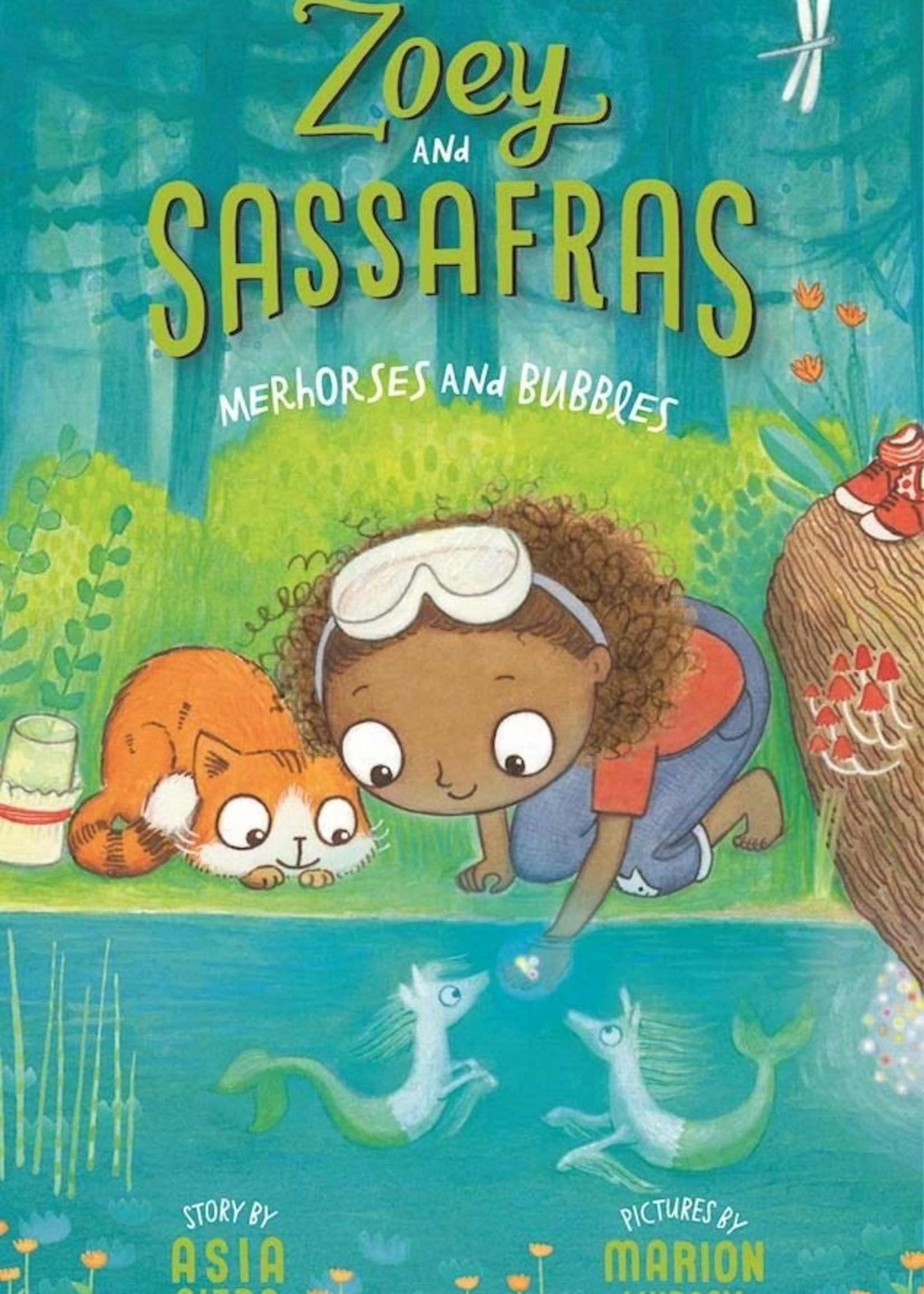 Zoey and Sassafras #03, Merhorses and Bubbles - Paperback