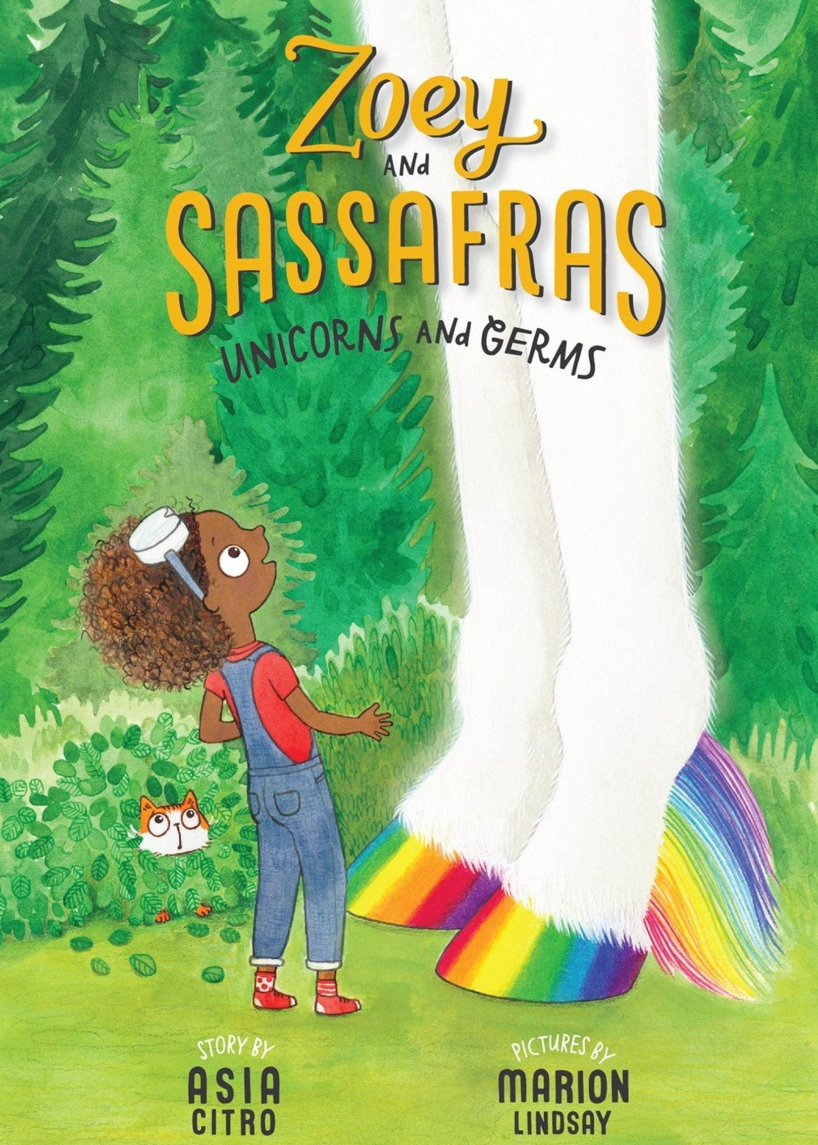 Zoey and Sassafras #06, Unicorns and Germs - Paperback