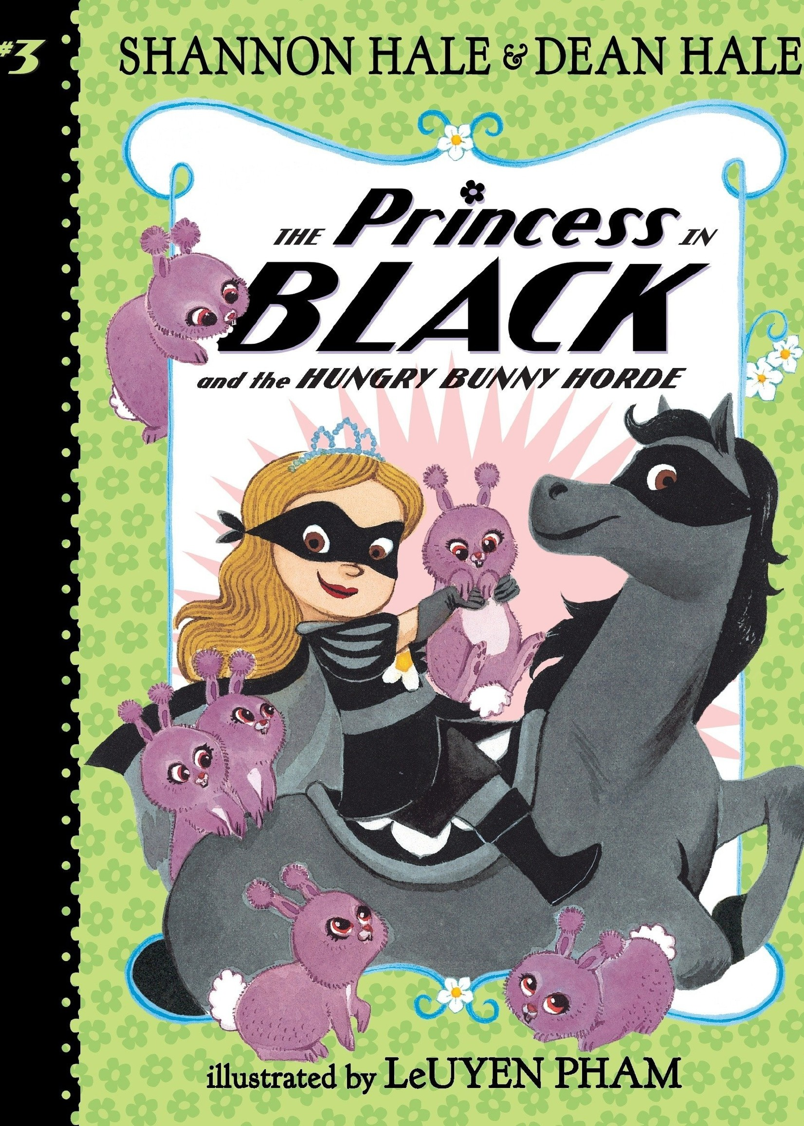 The Princess in Black and The Hungry Bunny Horde (#03) - Paperback