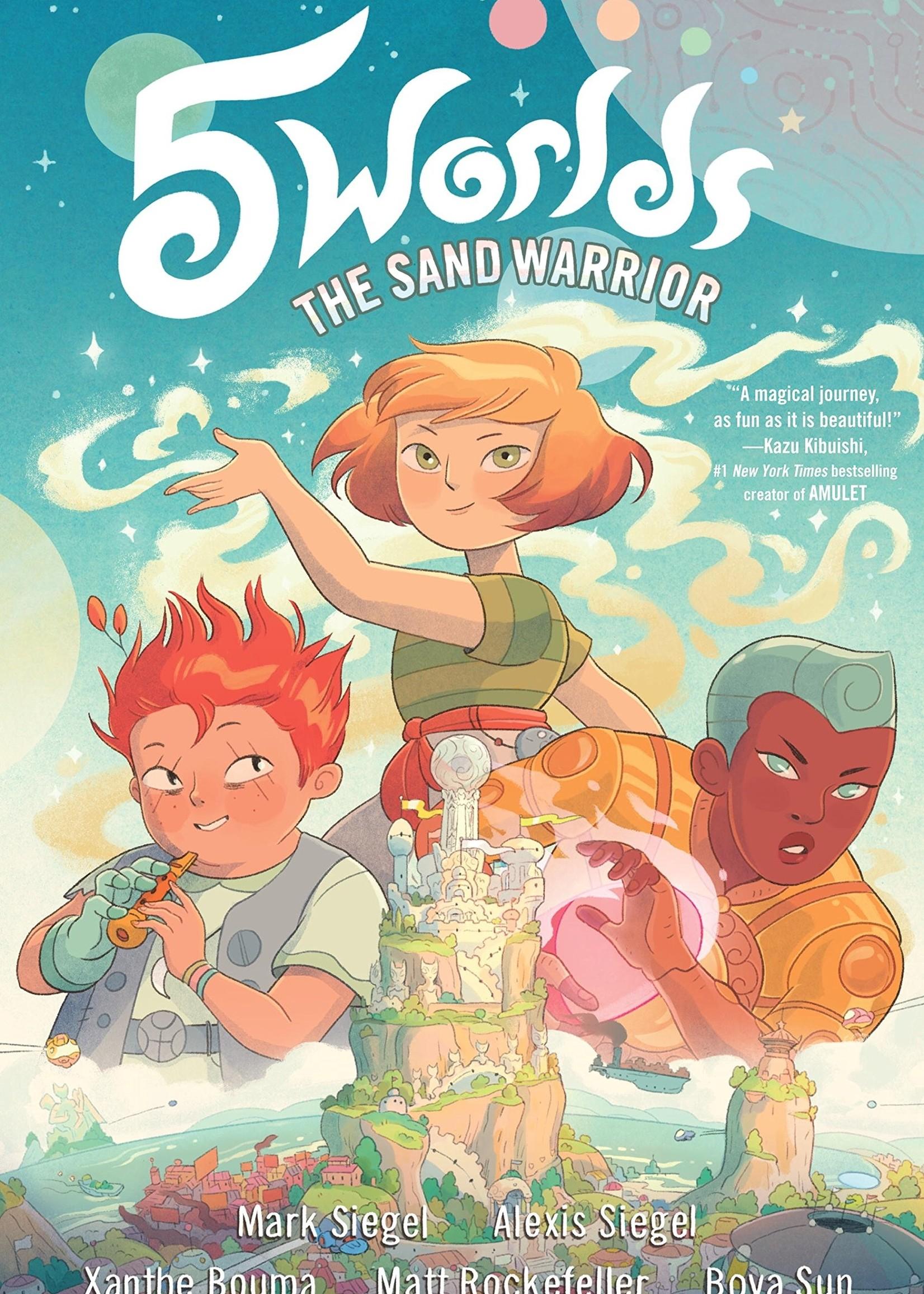 5 Worlds #01: The Sand Warrior Graphic Novel - Paperback