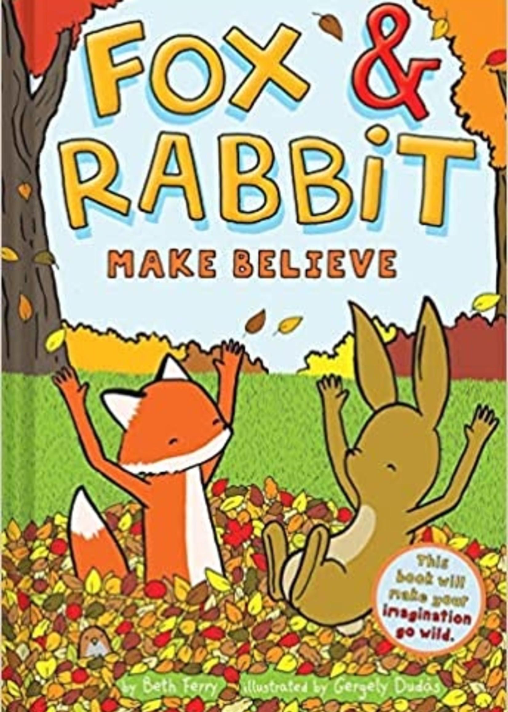Fox & Rabbit #02, Fox & Rabbit Make Believe Graphic Novel - Hardcover