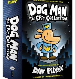 Dog Man #01-03 GN, HC Set - Box