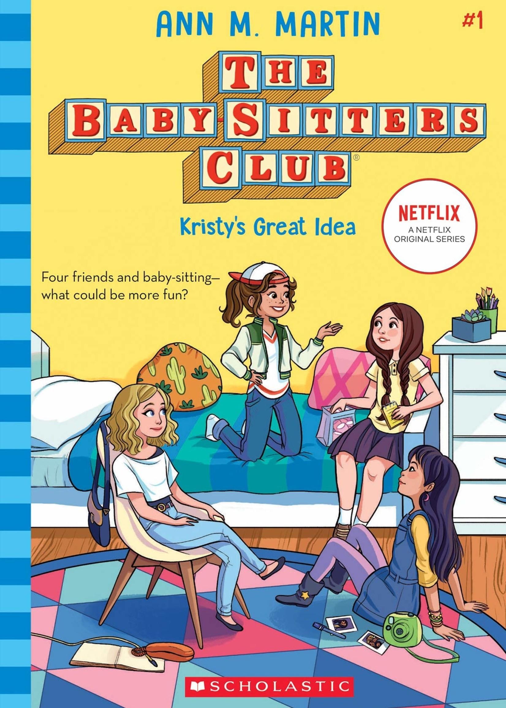 Baby-Sitters Club #01, Kristy's Great Idea - Paperback