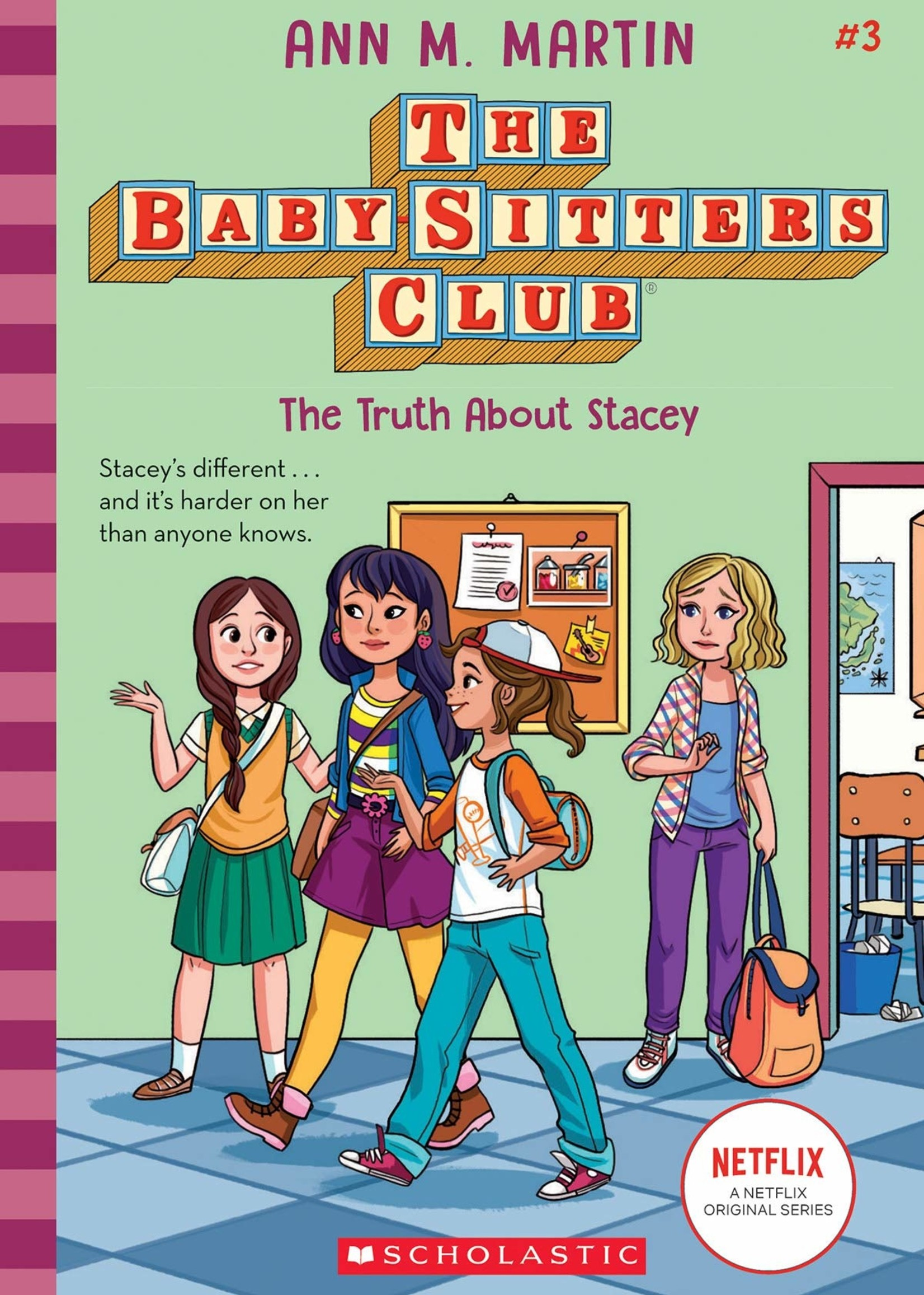 Baby-Sitters Club #03, The Truth about Stacey - Paperback