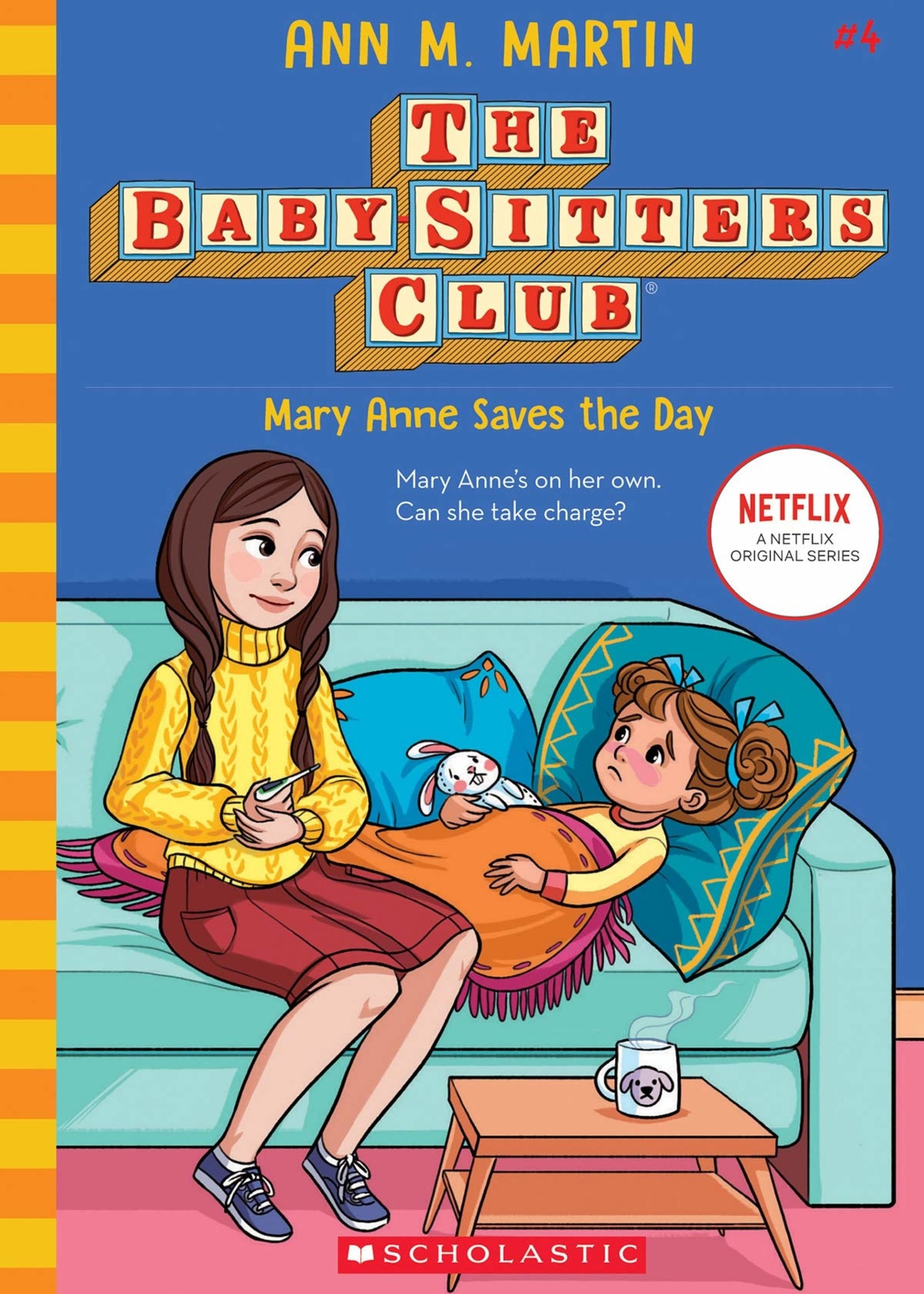Baby-Sitters Club #04, Mary Anne Saves the Day - Paperback