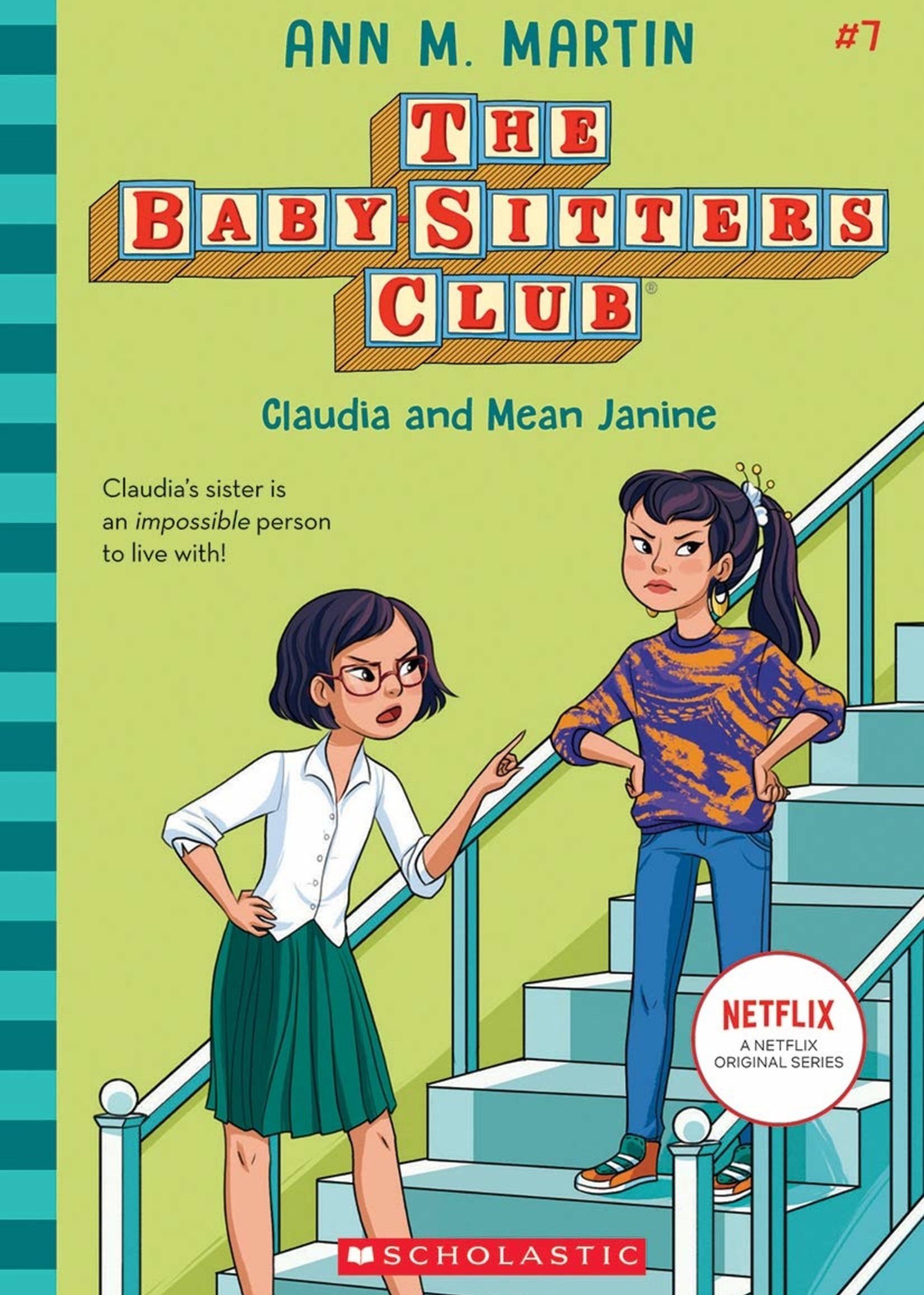 Baby-Sitters Club #07, Claudia and Mean Janine - Paperback