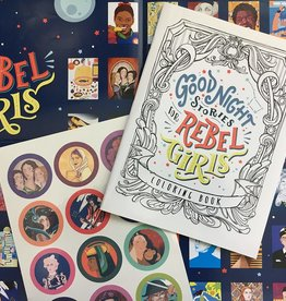 Good Night Stories for Rebel Girls, Rebel Pack, Coloring Book, Poster, and Tattoos