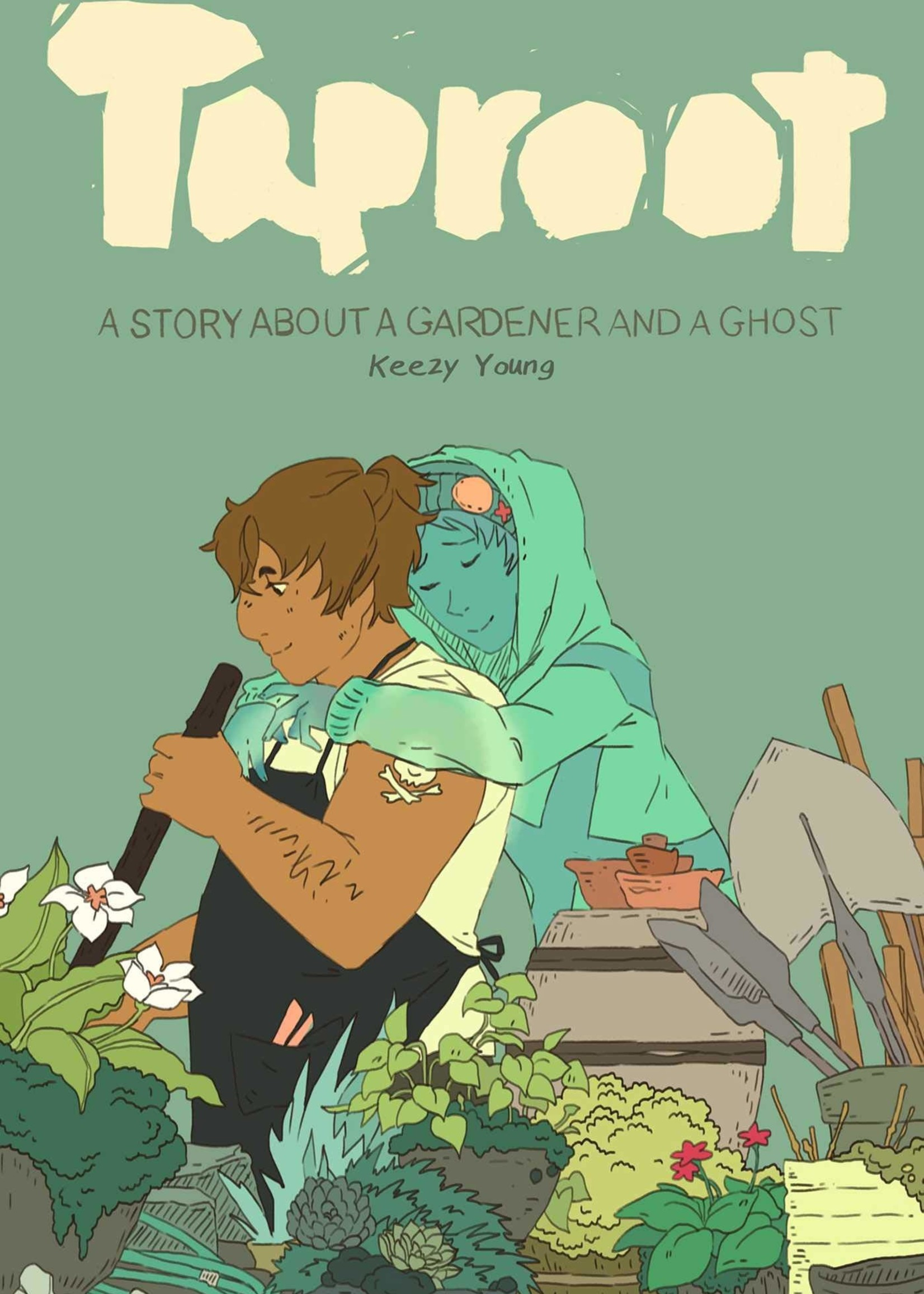 Taproot, A Story About a Gardener and a Ghost Graphic Novel - Paperback