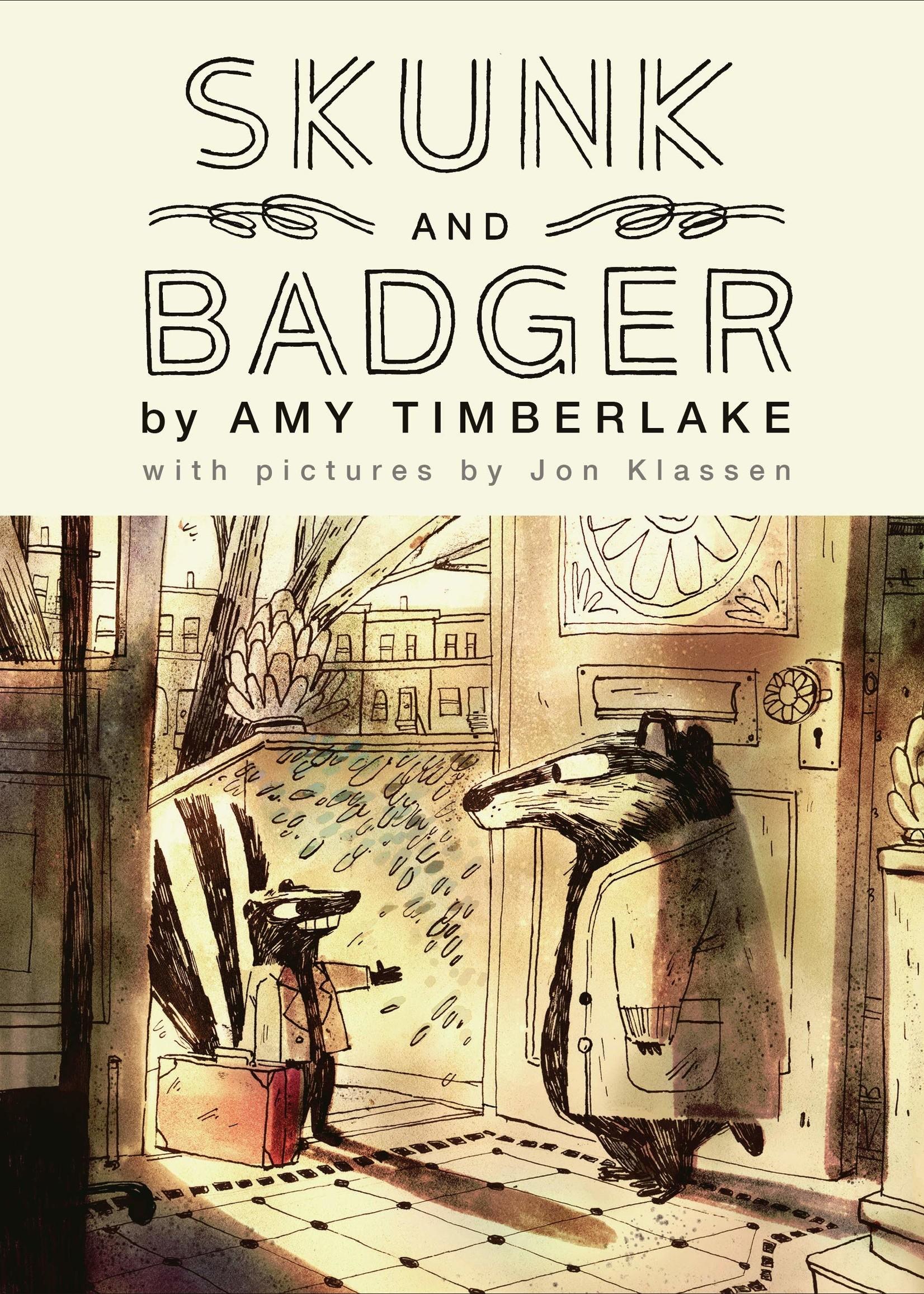Skunk and Badger #01 - Hardcover