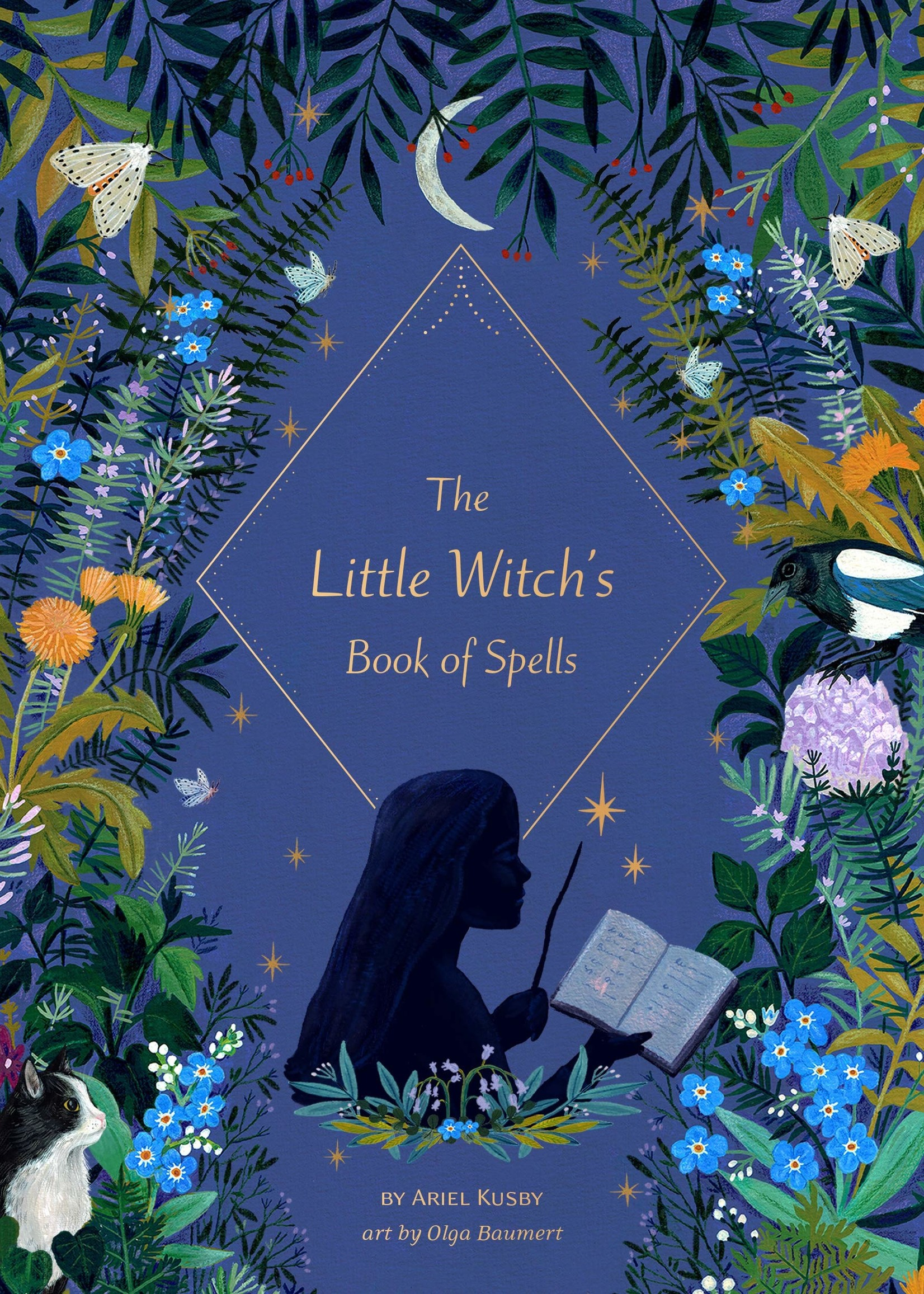 The Little Witch's Book of Spells - Hardcover