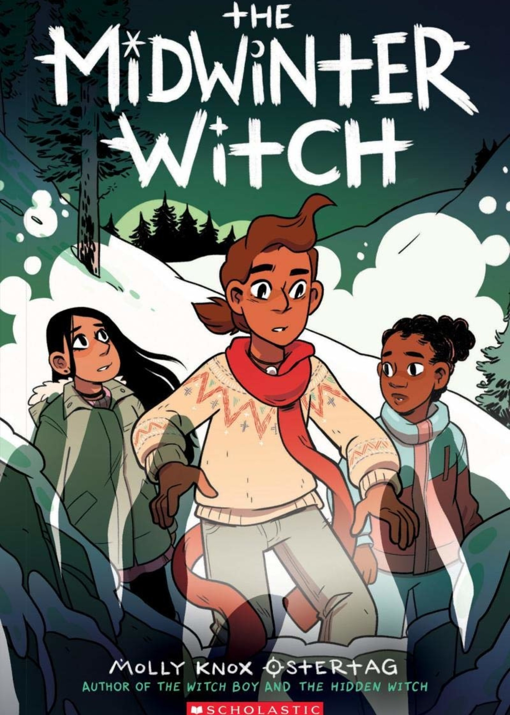 The Midwinter Witch Graphic Novel - Paperback