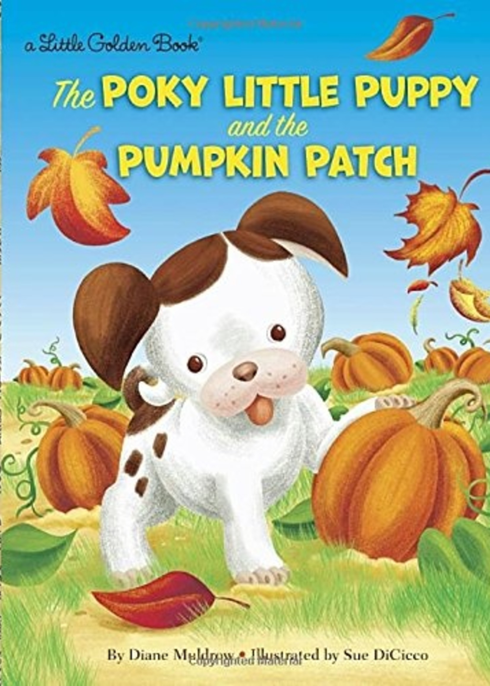The Poky Little Puppy and the Pumpkin Patch - Little Golden Book