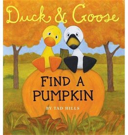 Duck and Goose Find a Pumpkin - BB