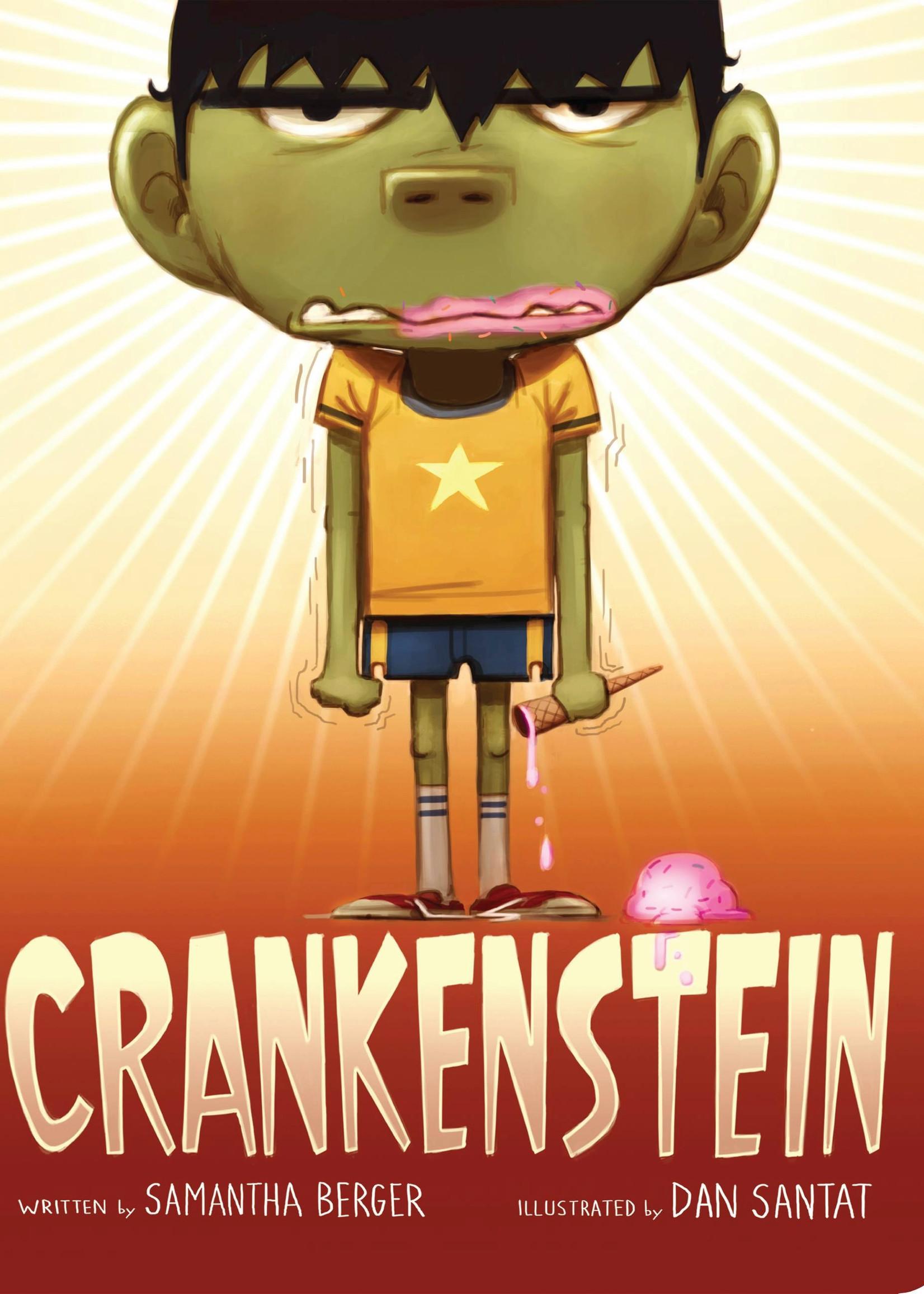 Crankenstein - Board Book