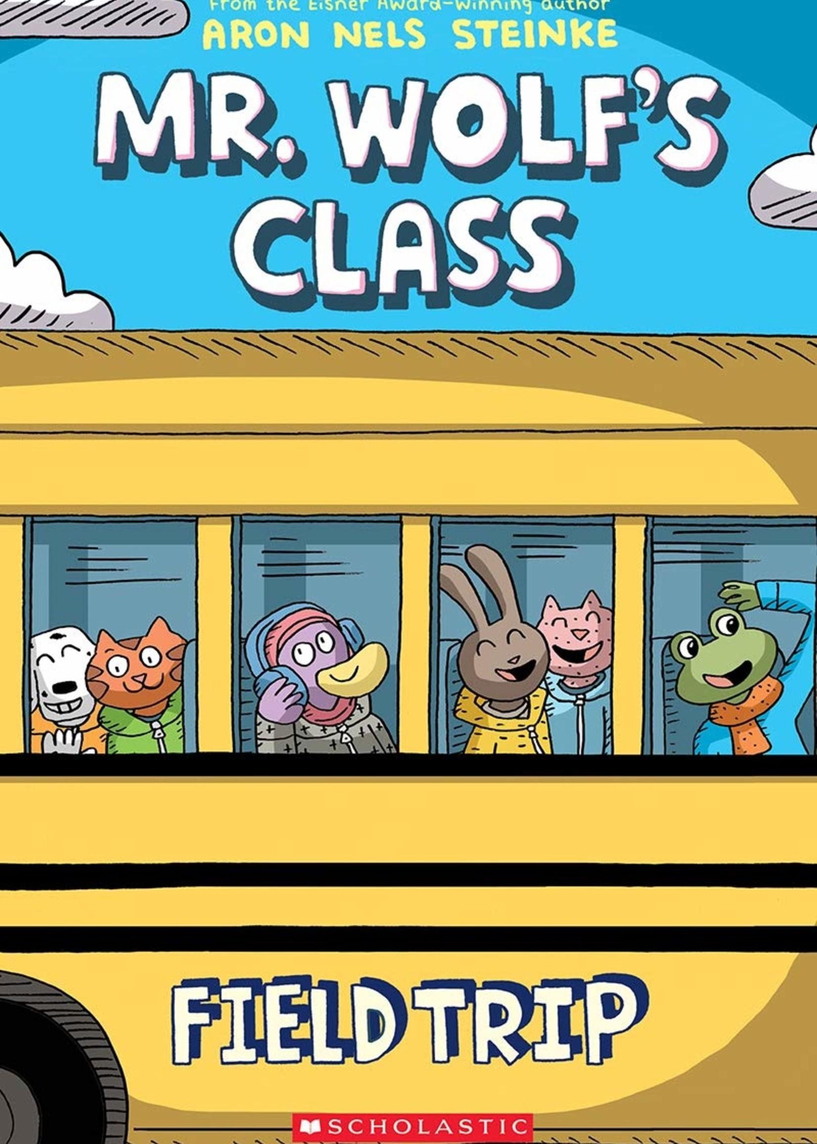 Mr. Wolf's Class #04, Field Trip Graphic Novel - Paperback