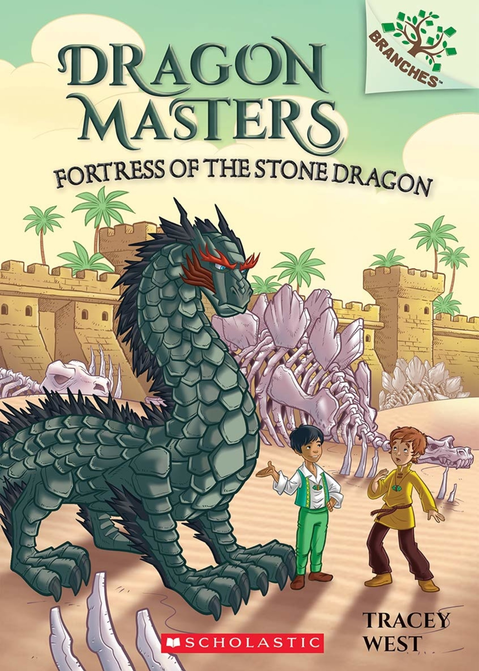 Dragon Masters #17, Fortress of the Stone Dragon - Paperback