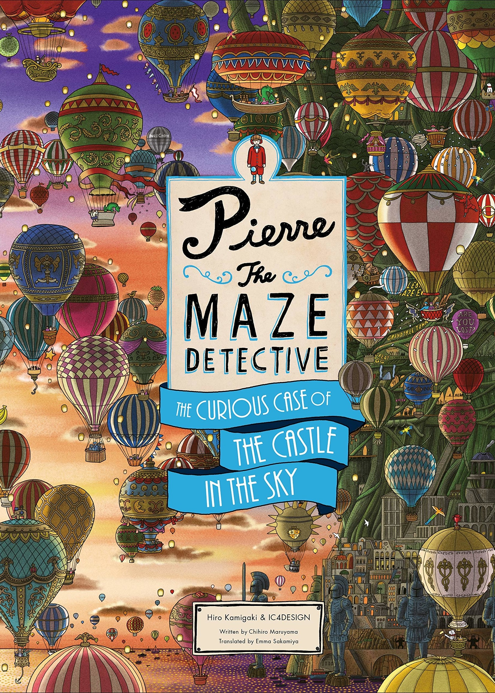 Pierre the Maze Detective: The Curious Case of the Castle in the Sky - Hardcover