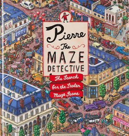 Pierre the Maze Detective, The Search for the Stolen Maze Stone - HC
