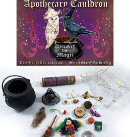 LadyJane Studios The Teensy Witch's Apothecary Cauldron Kit