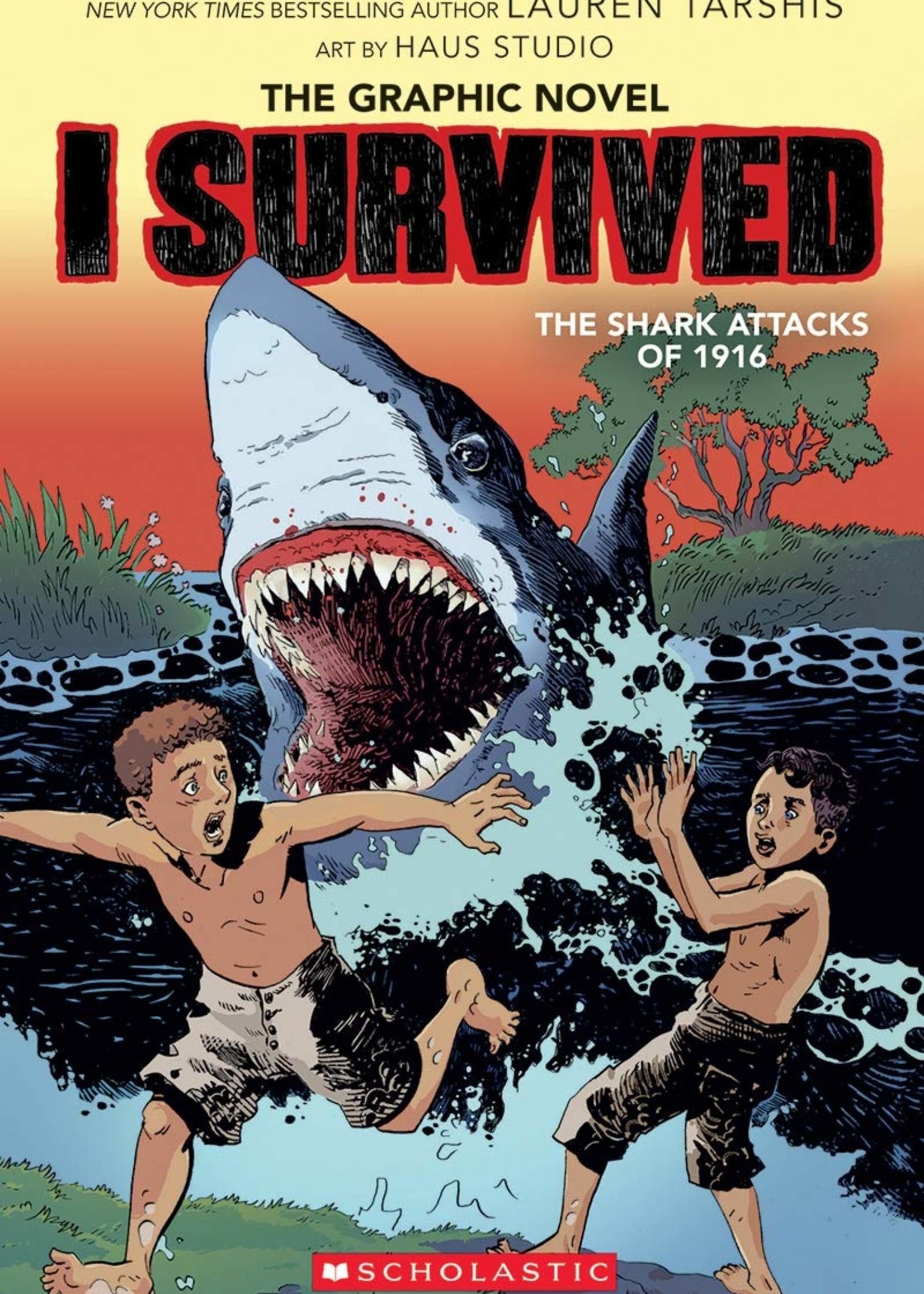 I Survived Graphic Novel #02, I Survived the Shark Attacks of 1916 - Paperback