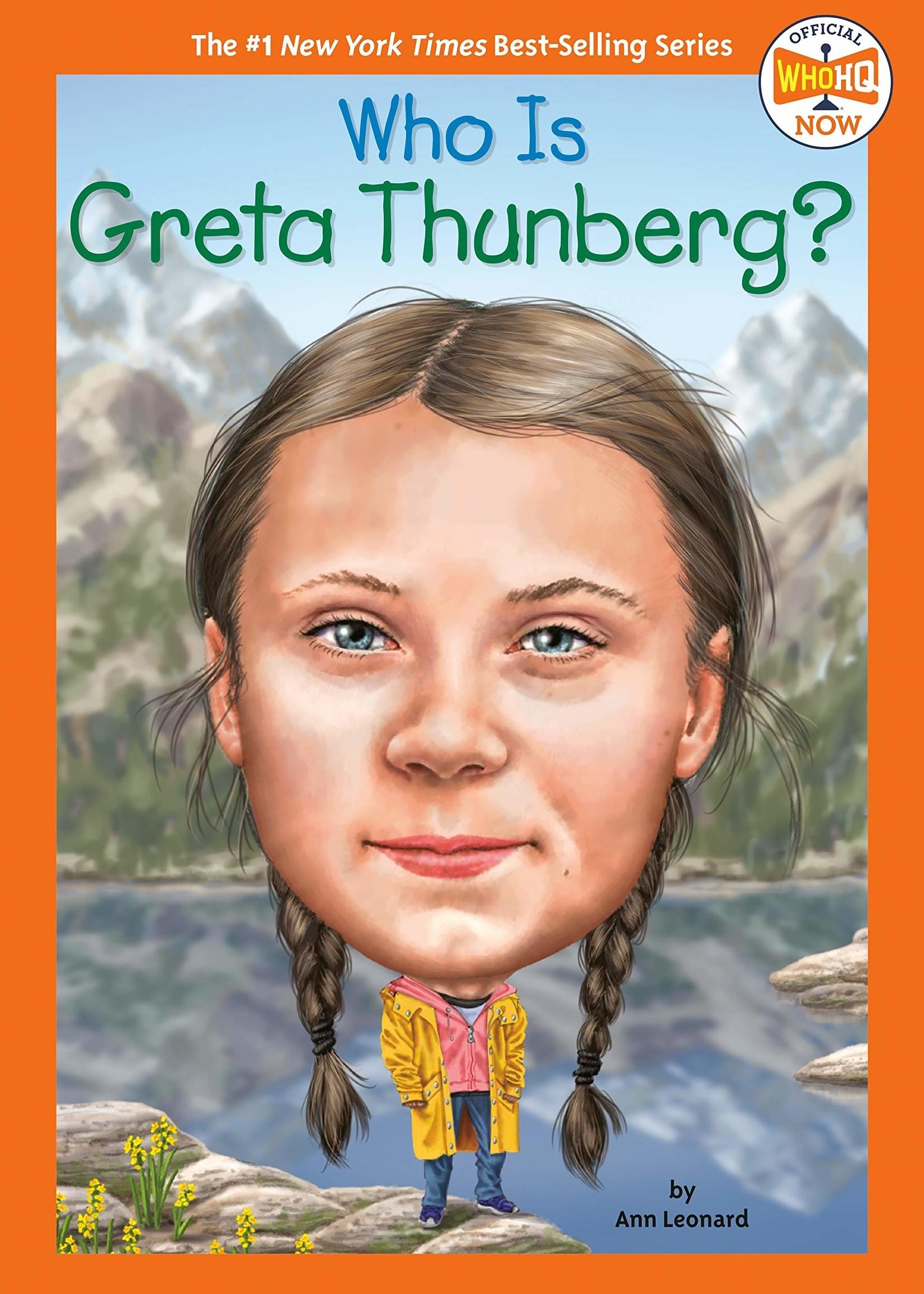 Who Is Greta Thunberg? - Paperback