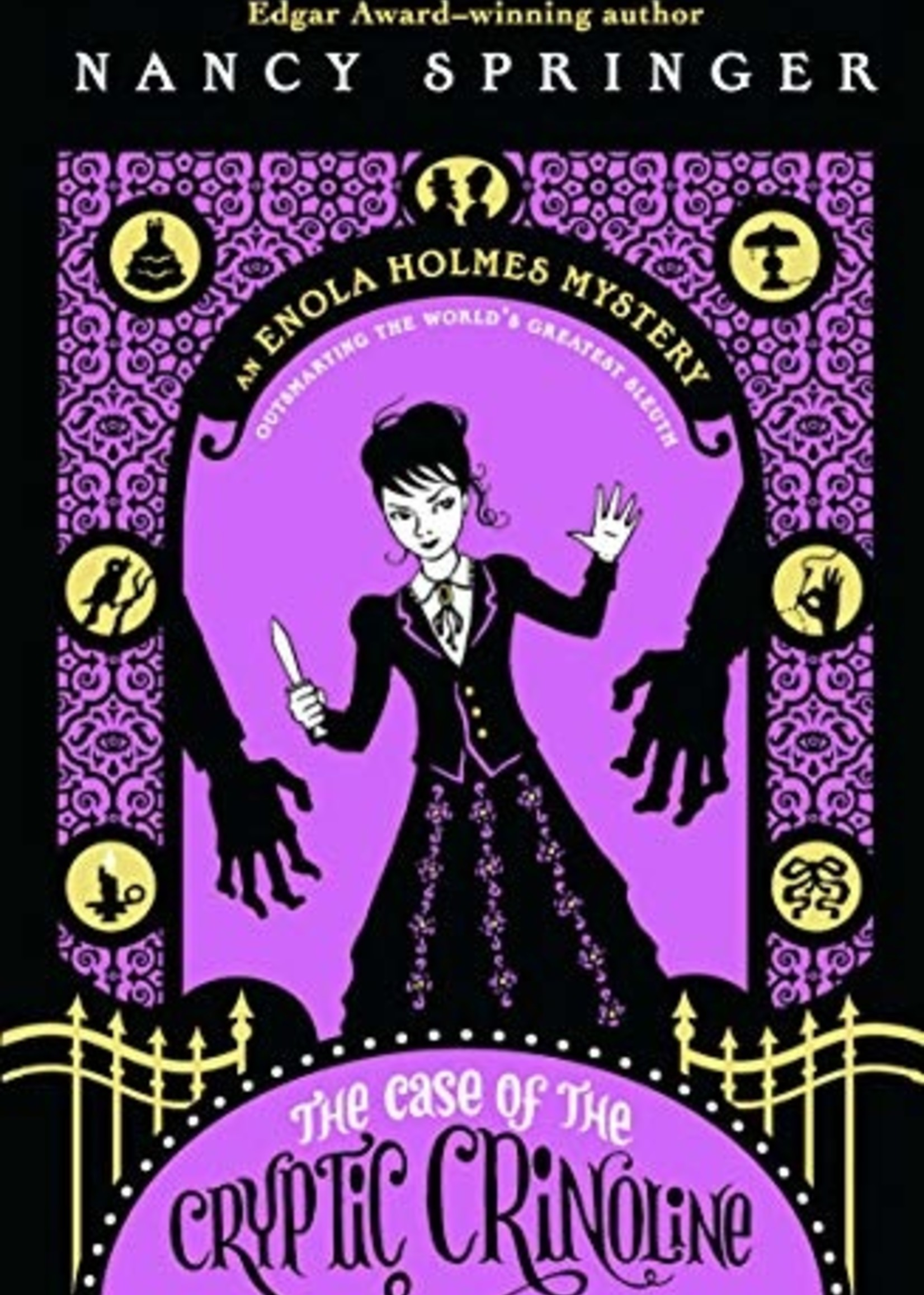 Enola Holmes Mystery #05, The Case of the Cryptic Crinoline - Paperback