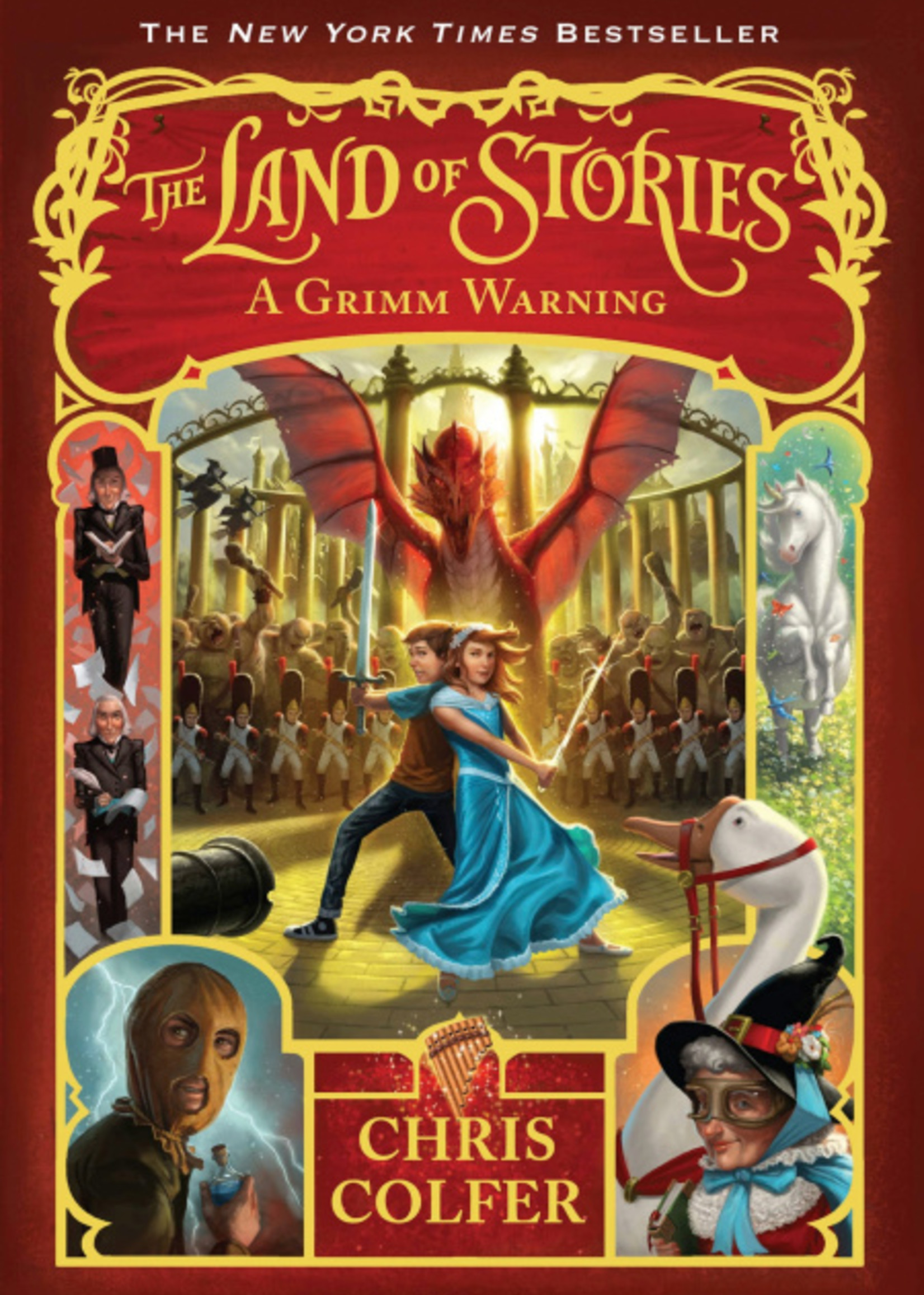 The Land of Stories #03, A Grimm Warning - Paperback