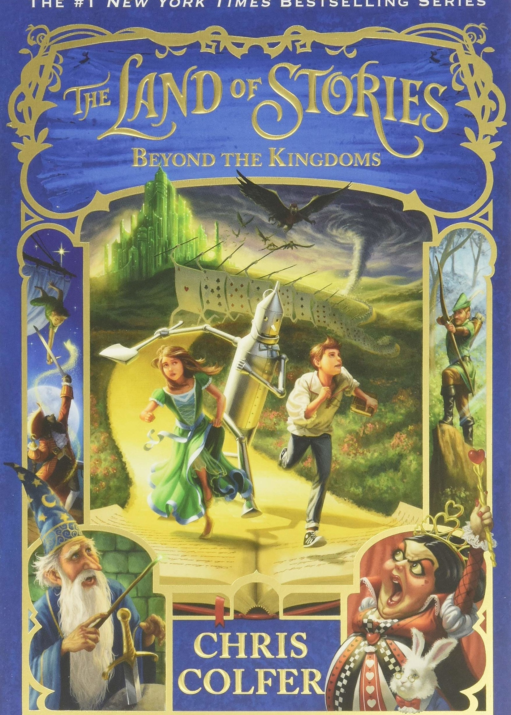The Land of Stories #04, Beyond the Kingdoms - Paperback