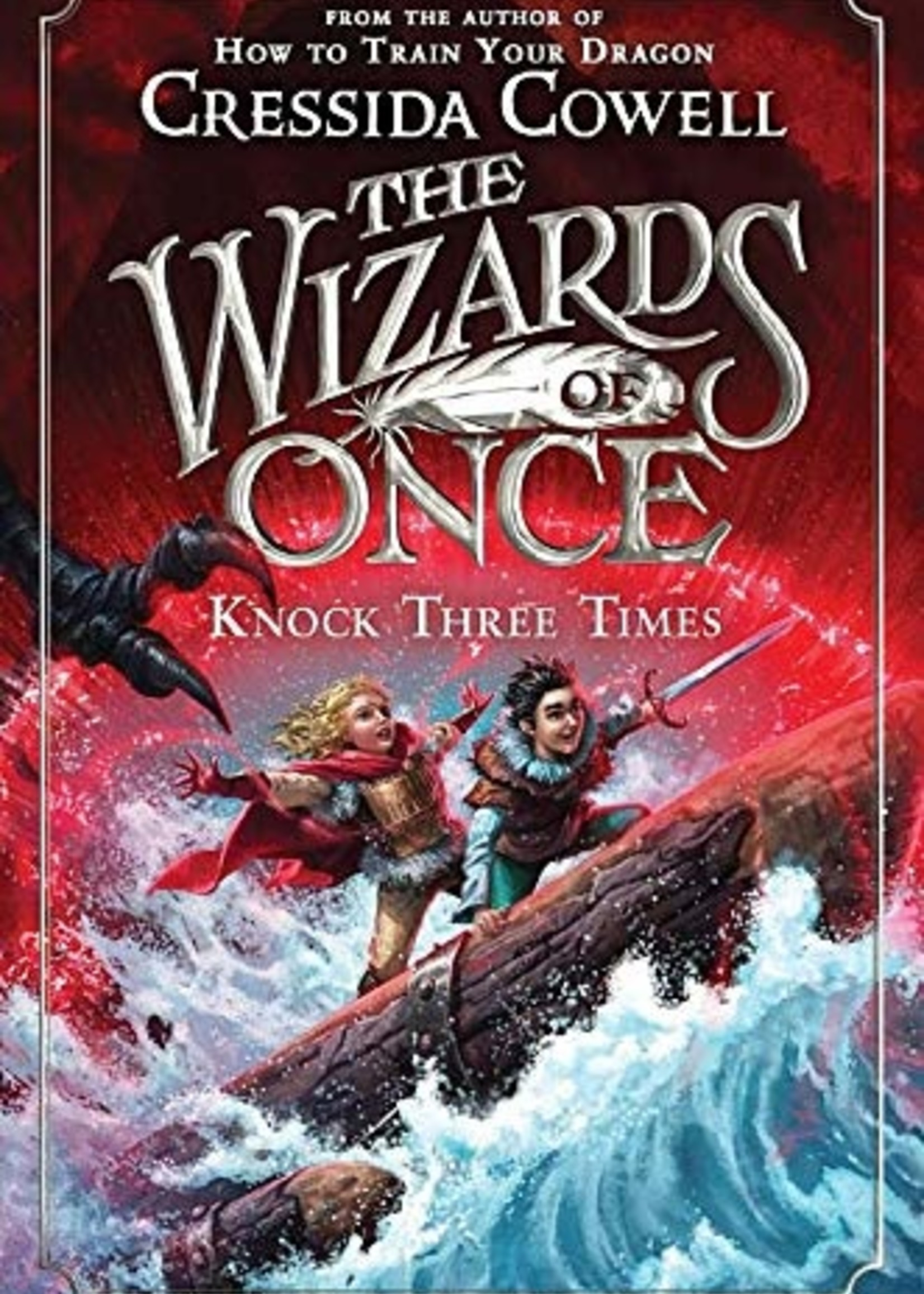 The Wizards of Once #03, Knock Three Times - Paperback