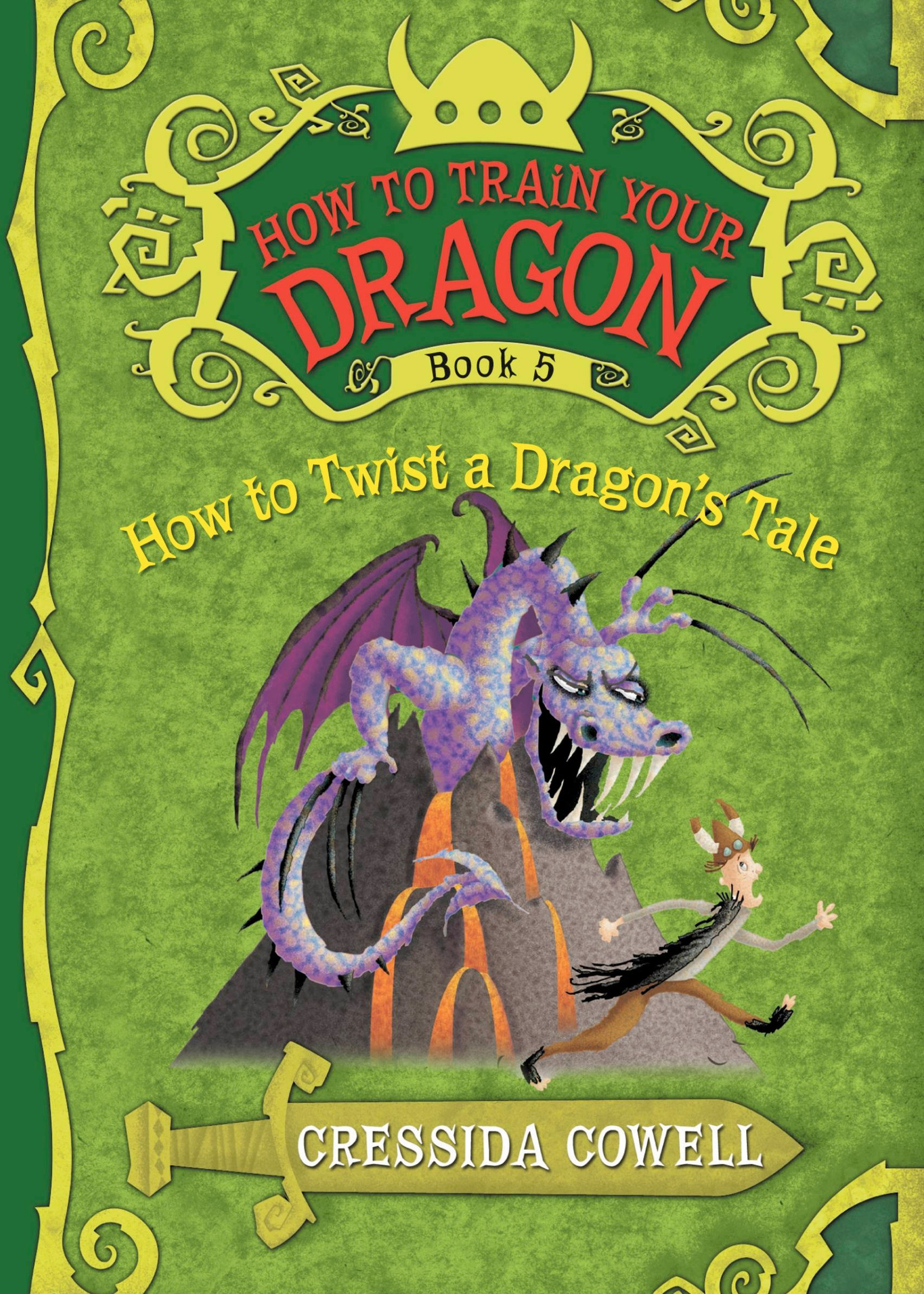 How to Train Your Dragon #05, How to Twist a Dragon's Tale - Paperback