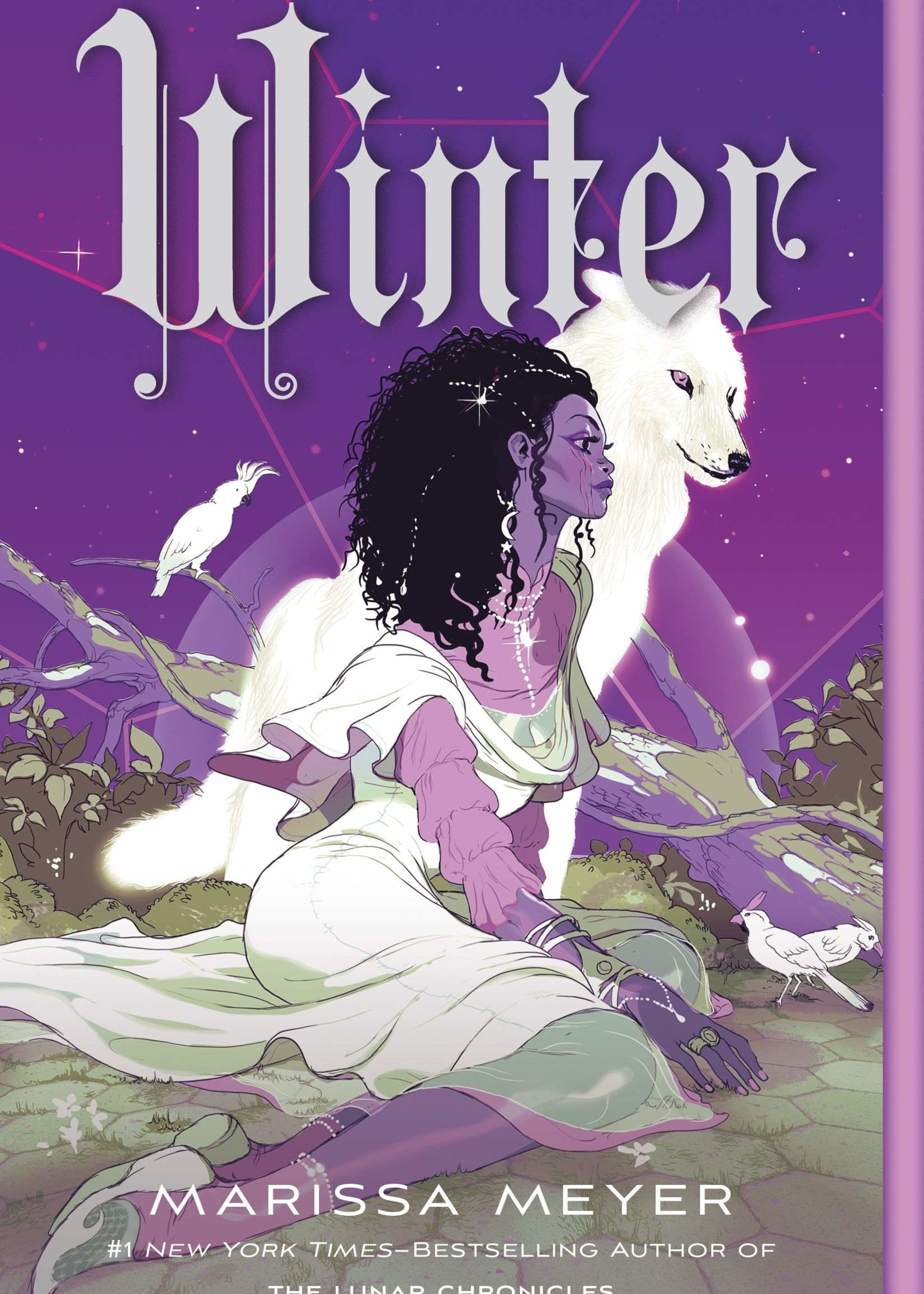 The Lunar Chronicles #04, Winter (Illustrated Cover) - Paperback