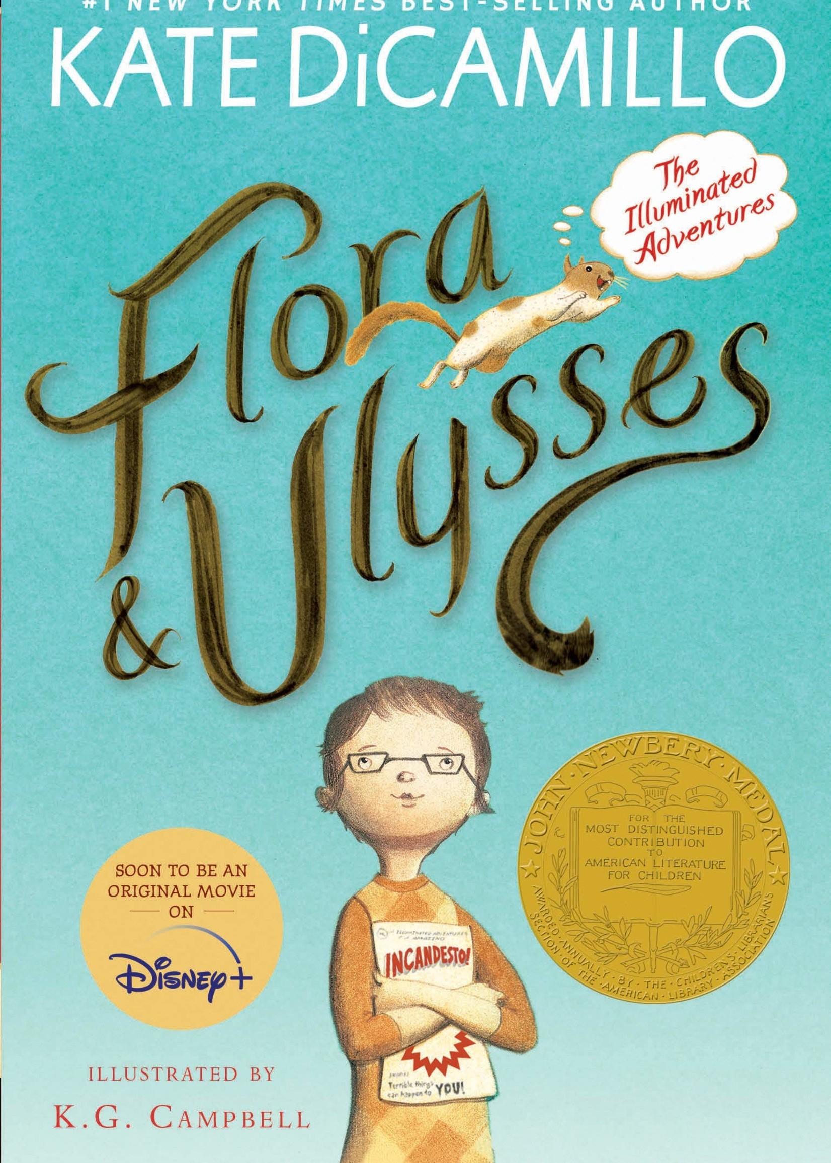 Flora & Ulysses, The Illuminated Adventures - Paperback