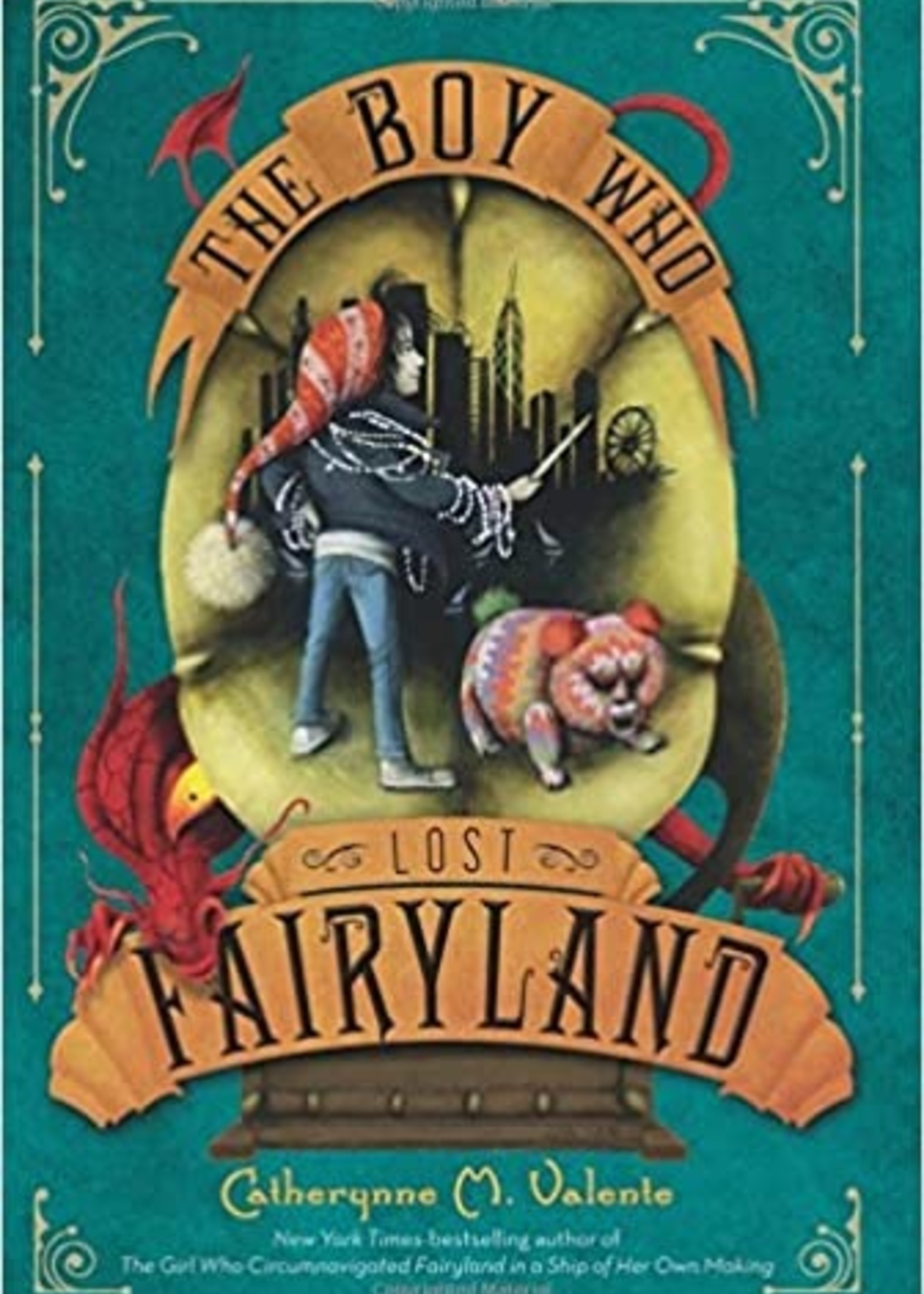 Fairyland #04, The Boy who Lost Fairyland - Paperback