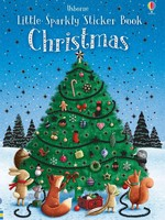 Usborne Little Sparkly Sticker Book, Christmas - PB