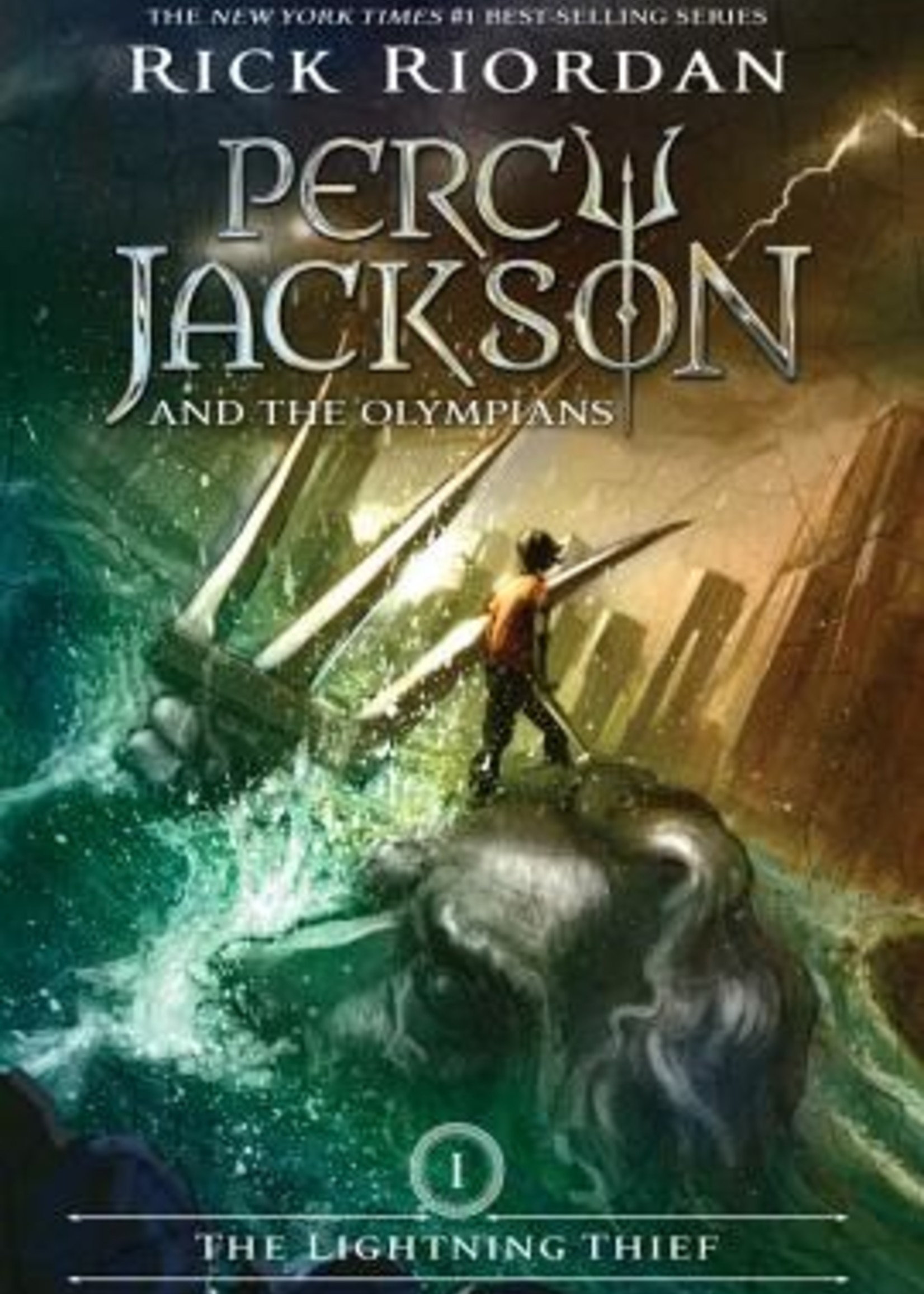 Percy Jackson and the Olympians #01, The Lightning Thief - Paperback