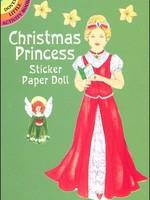 Christmas Princess Sticker Paper Doll