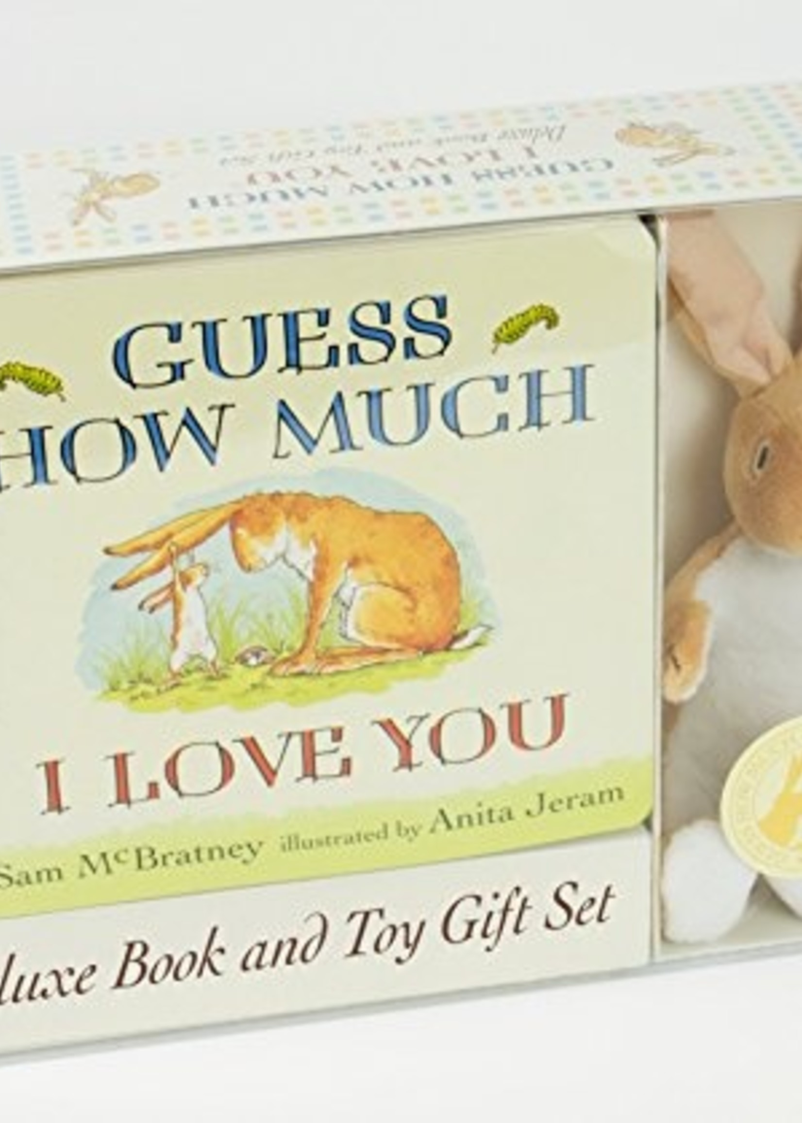 Guess How Much I Love You, Deluxe Book and Toy Gift Set w/Toy Rabbit - Box
