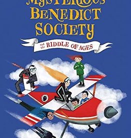 The Mysterious Benedict Society #04, The Mysterious Benedict Society and the Riddle of Ages - PB