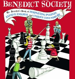 The Mysterious Benedict Society, Mr. Benedict's Book of Perplexing Puzzles, Elusive Enigmas, and Curious Conundrums - PB