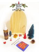 Winter DIY Gnome in the Home Portal Door Art Kit