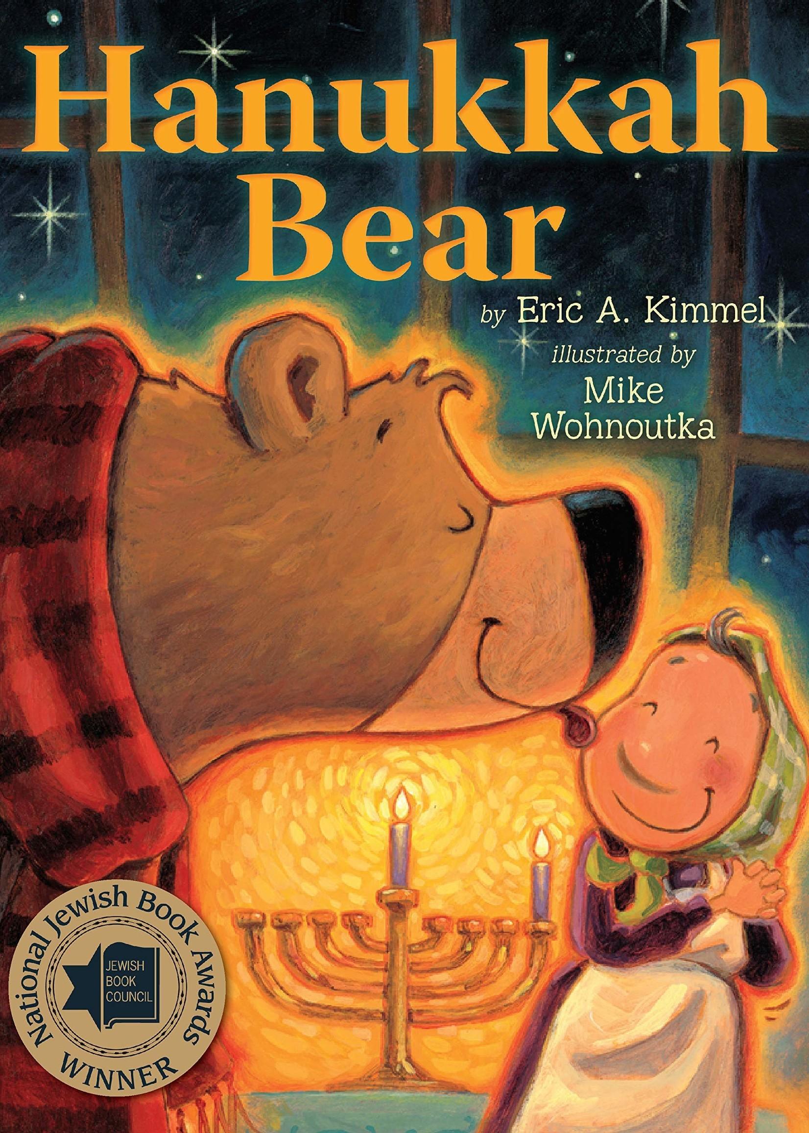 Hanukkah Bear - Board Book